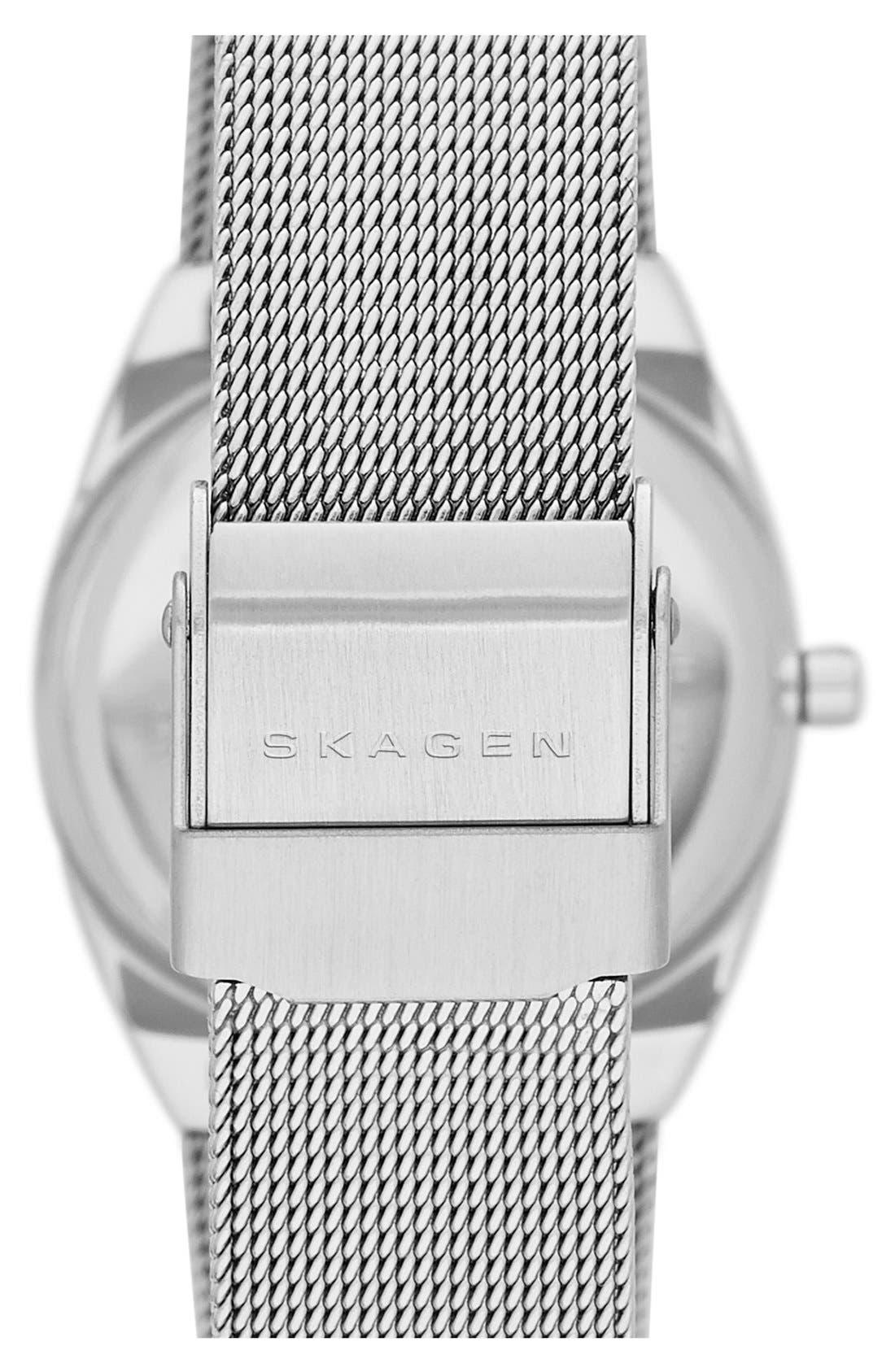 Alternate Image 2  - Skagen 'Asta' Slim Barrel Mesh Strap Watch, 28mm