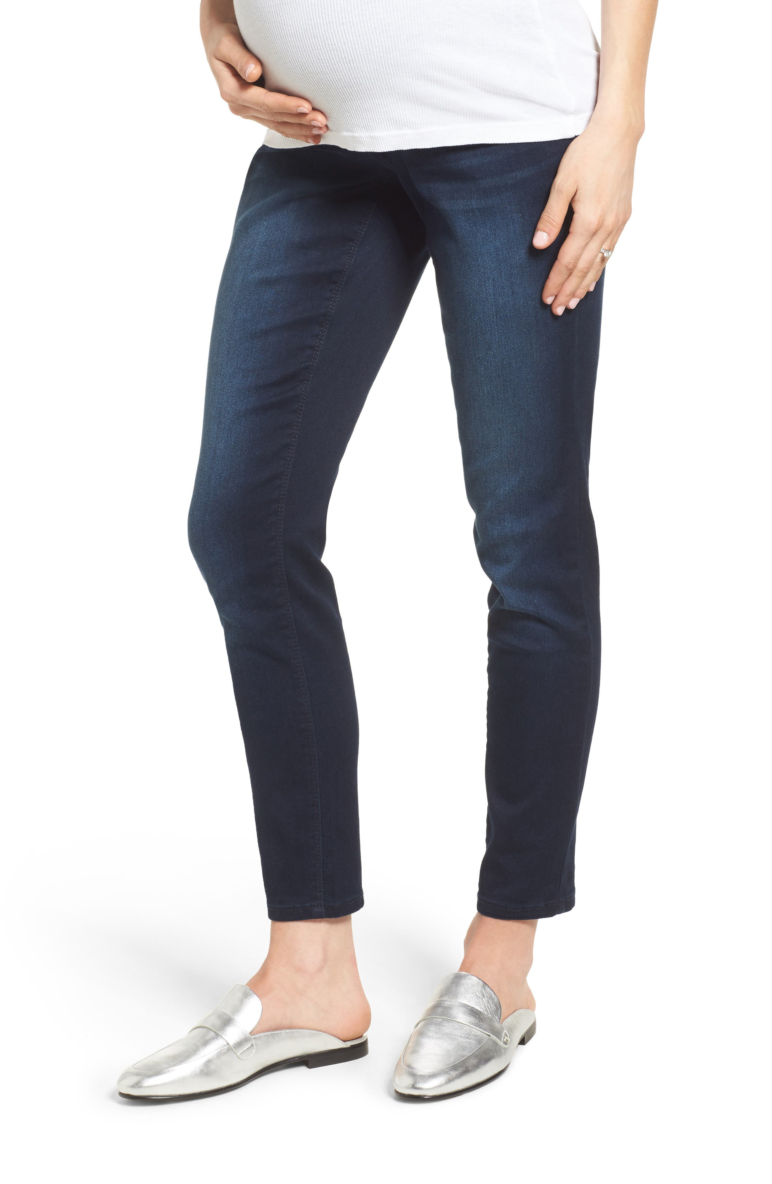 1822 DENIM Luxe Maternity Skinny Jeans