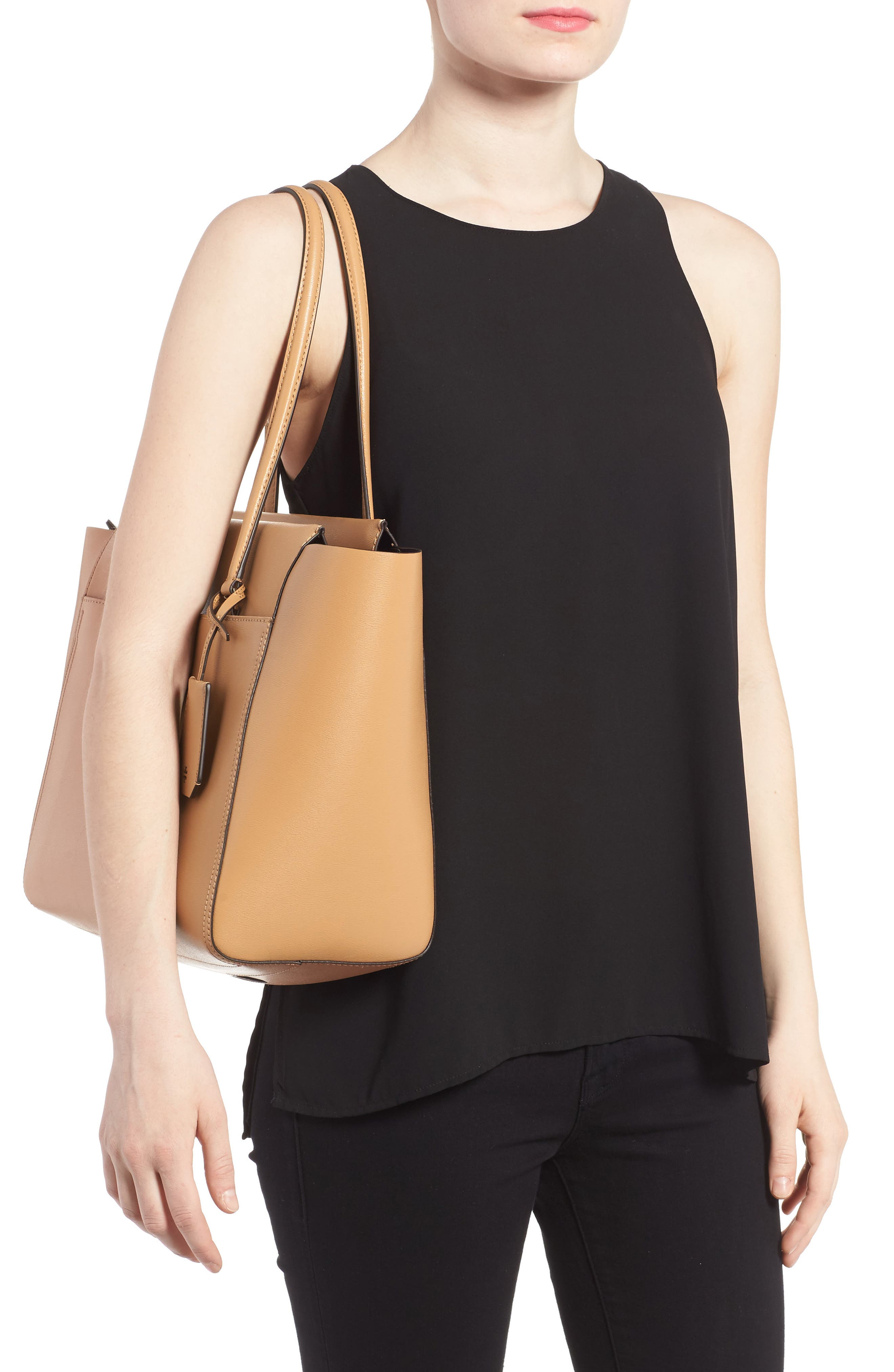 Alternate Image 2  - Tory Burch Parker Leather Tote