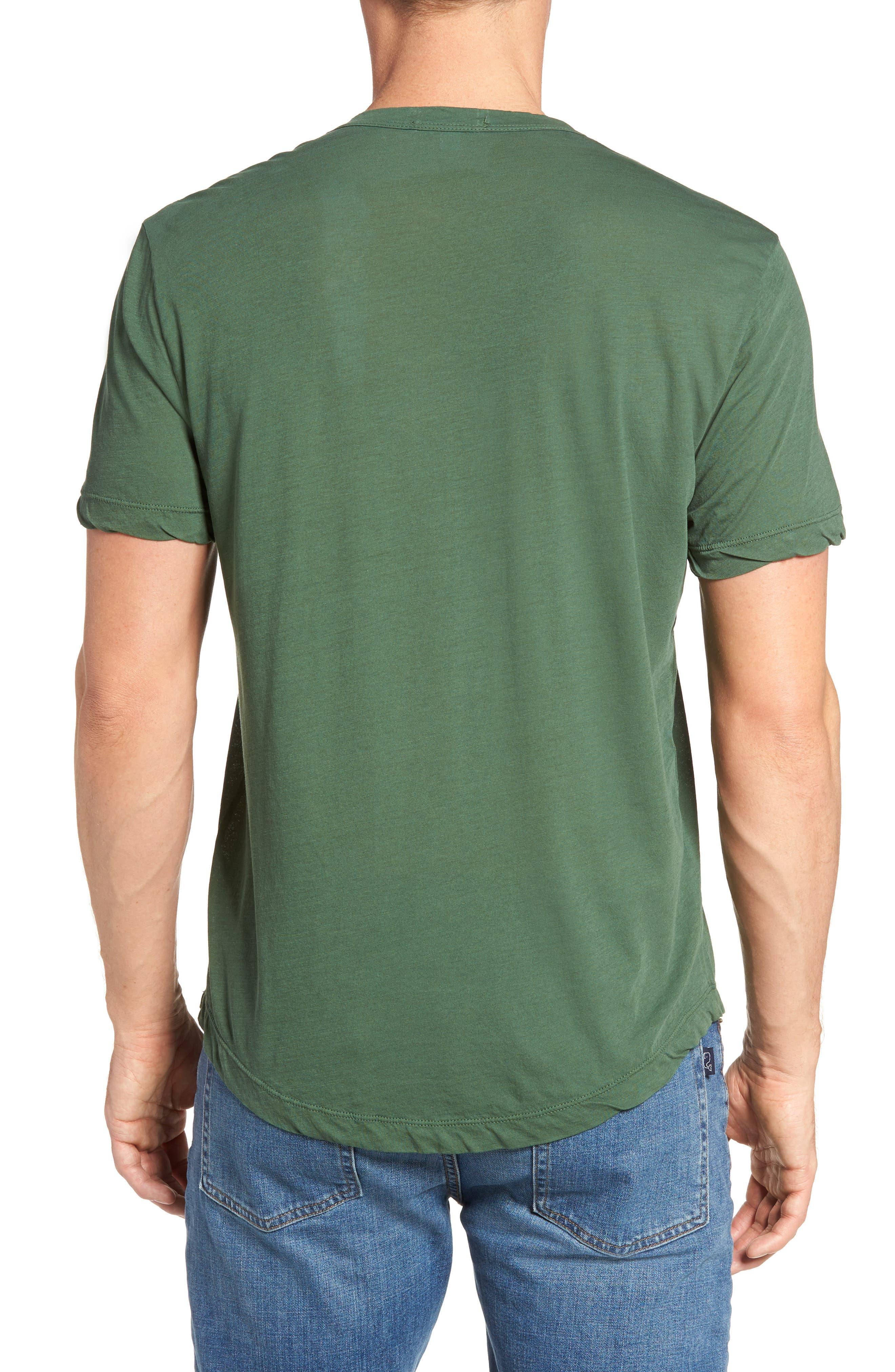 Alternate Image 2  - James Perse Crewneck Jersey T-Shirt