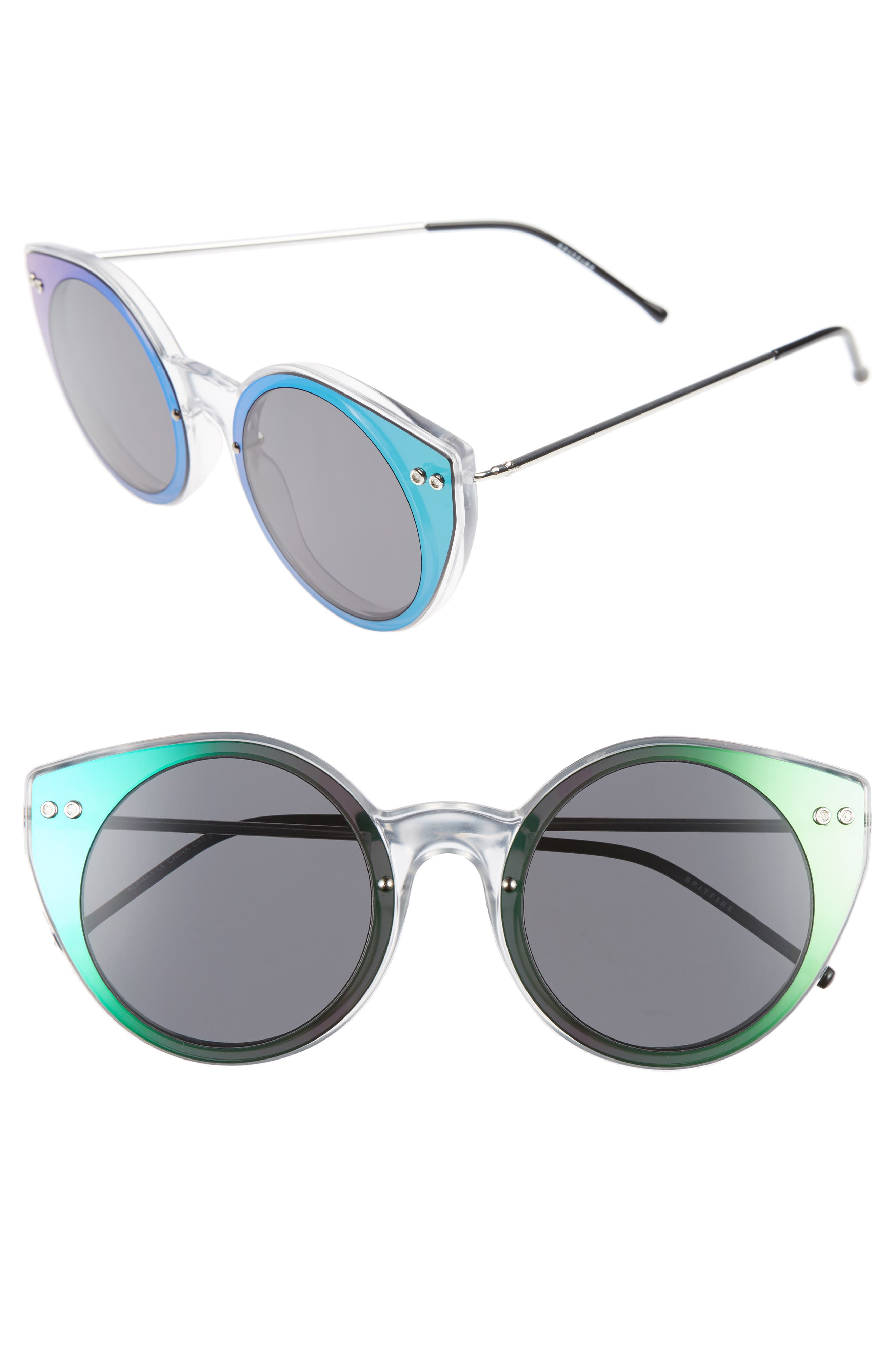 Alternate Image 1 Selected - Spitfire Alpha 1 60mm Mirrored Sunglasses