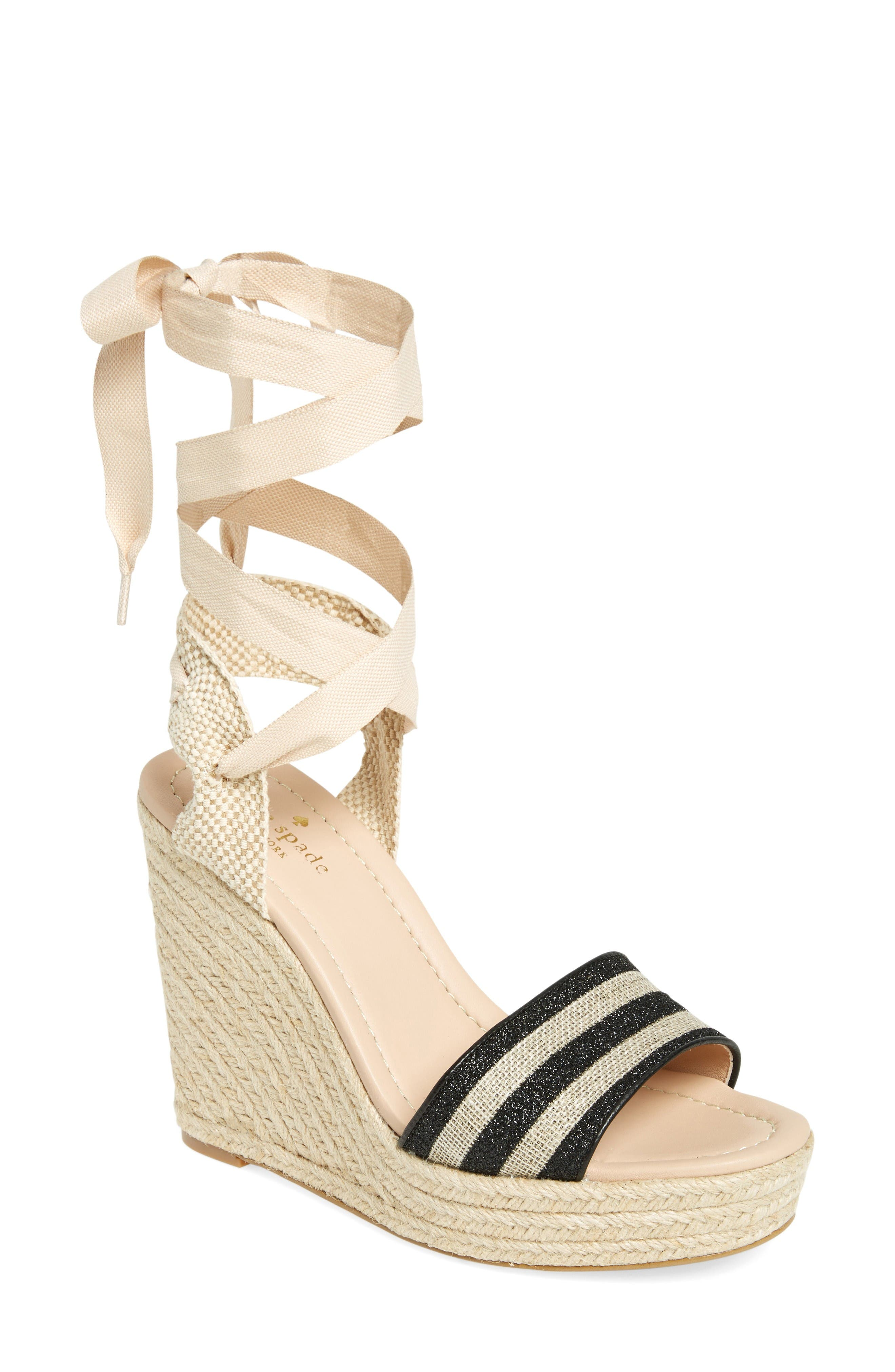 kate spade new york delano wedge sandal (Women)