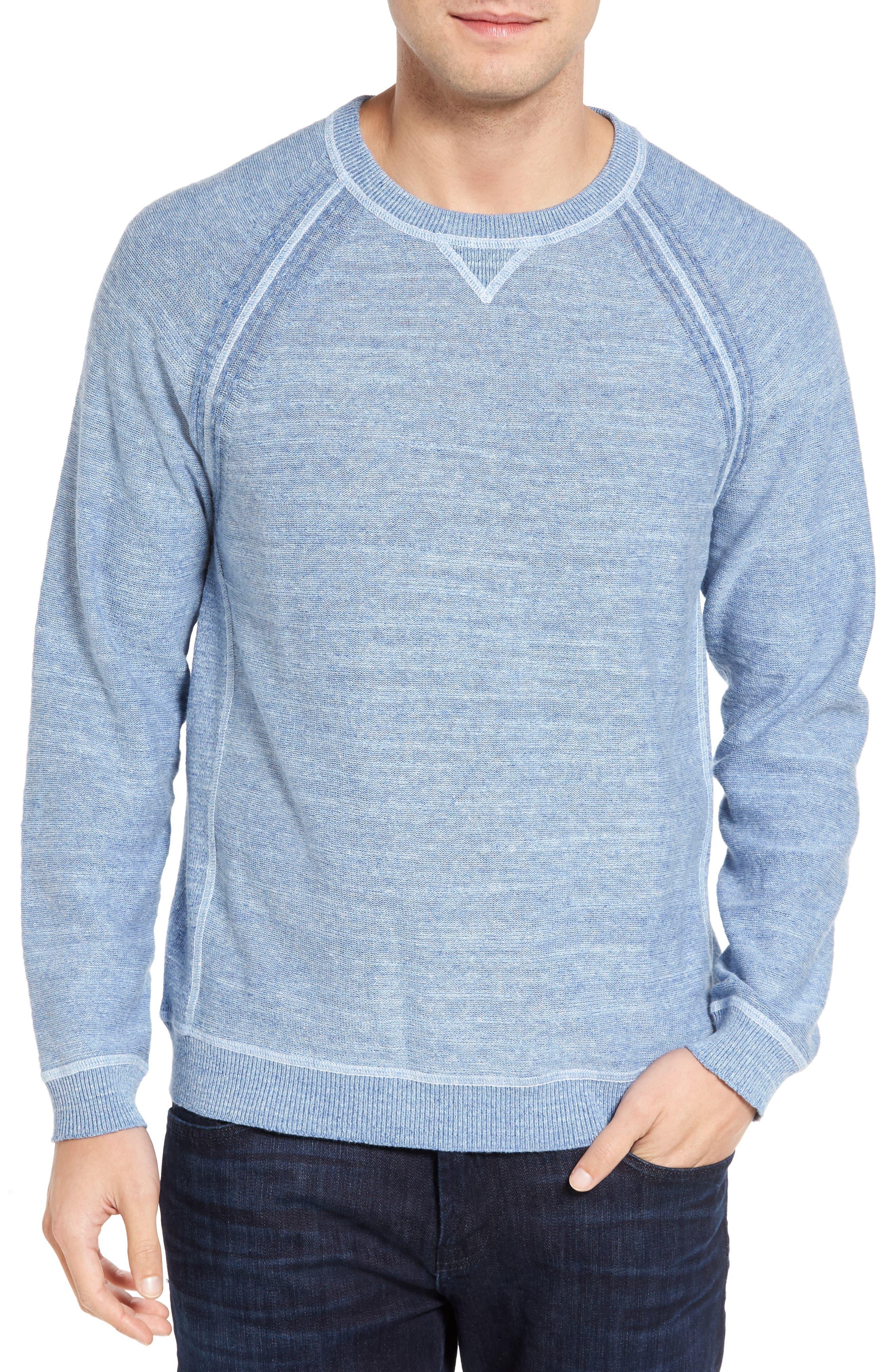 Tommy Bahama Sandy Bay Reversible Crewneck Sweater