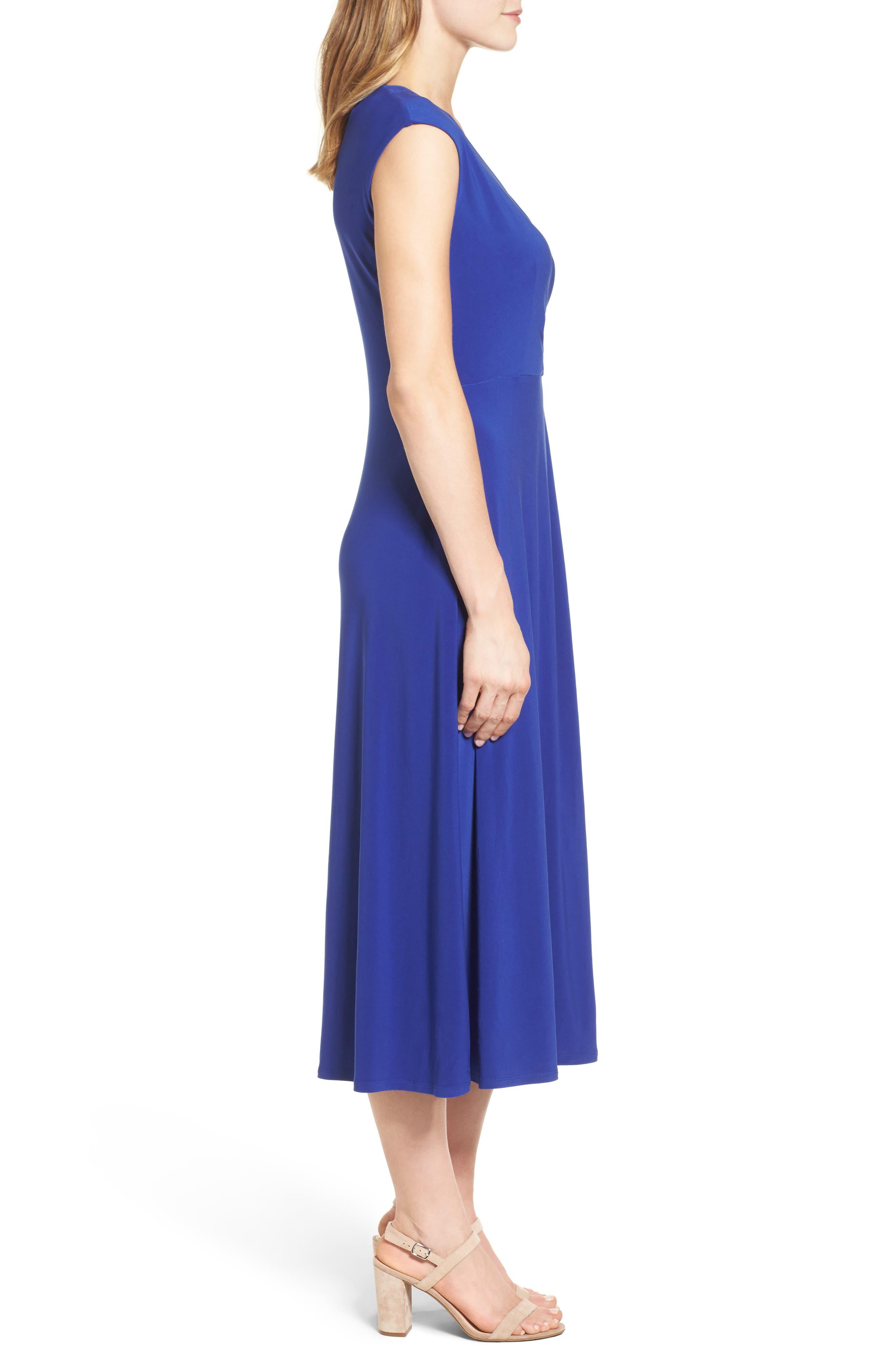 Alternate Image 3  - Chaus Faux Wrap Midi Dress