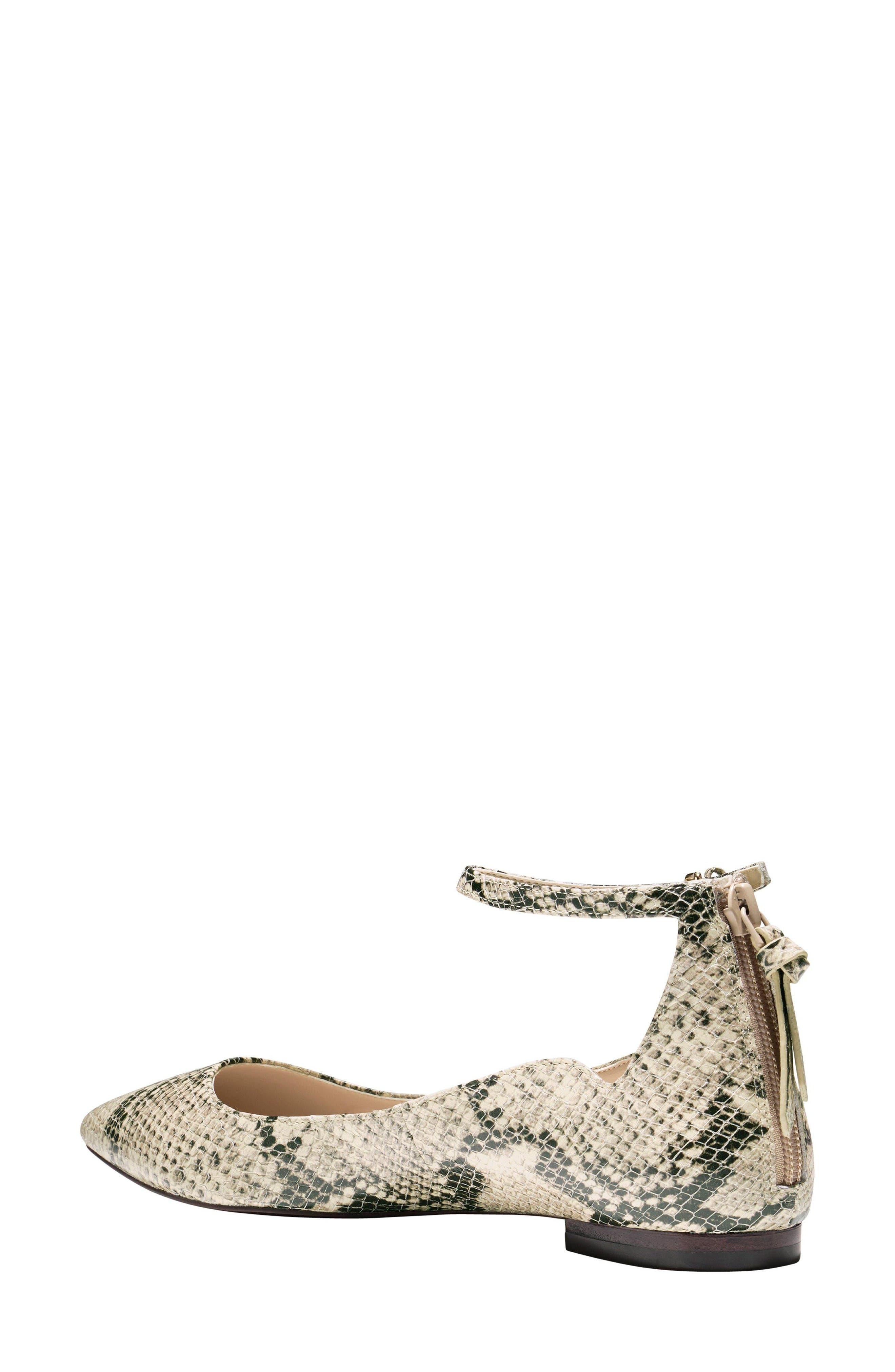 Alternate Image 2  - Cole Haan Millicent Ankle Strap Skimmer Flat (Women)