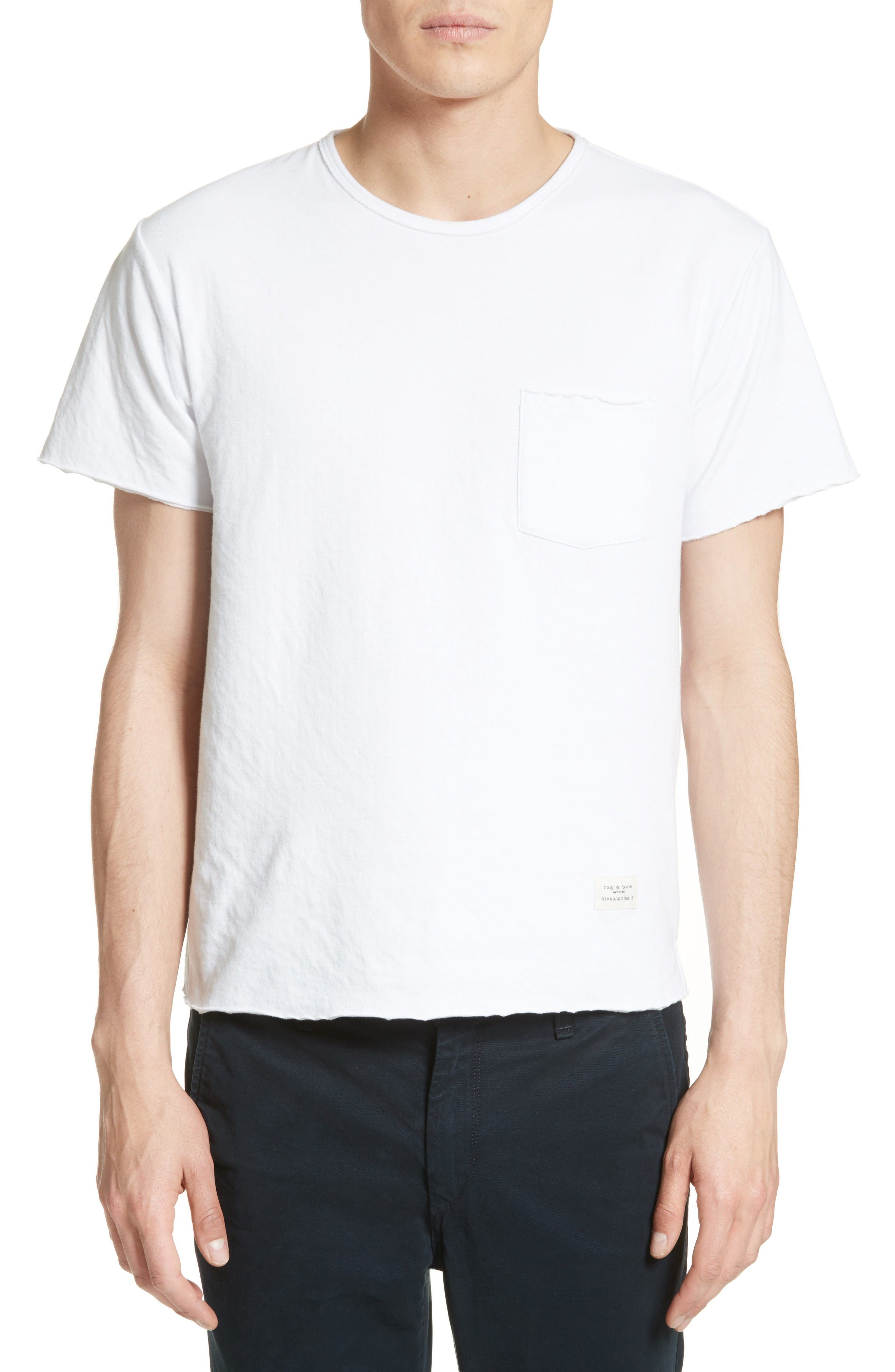 rag & bone Raw Edge T-Shirt