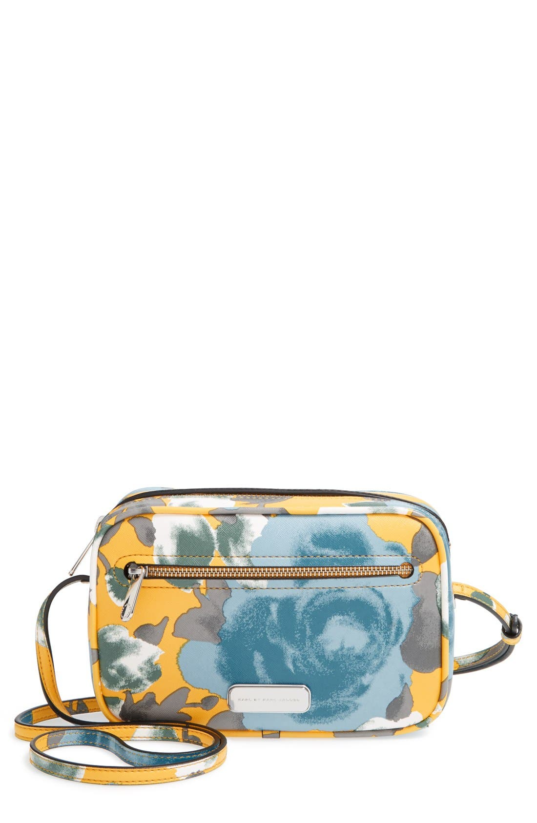 Main Image - MARC BY MARC JACOBS 'Jerrie Rose - Sally' Flower Print Crossbody Bag