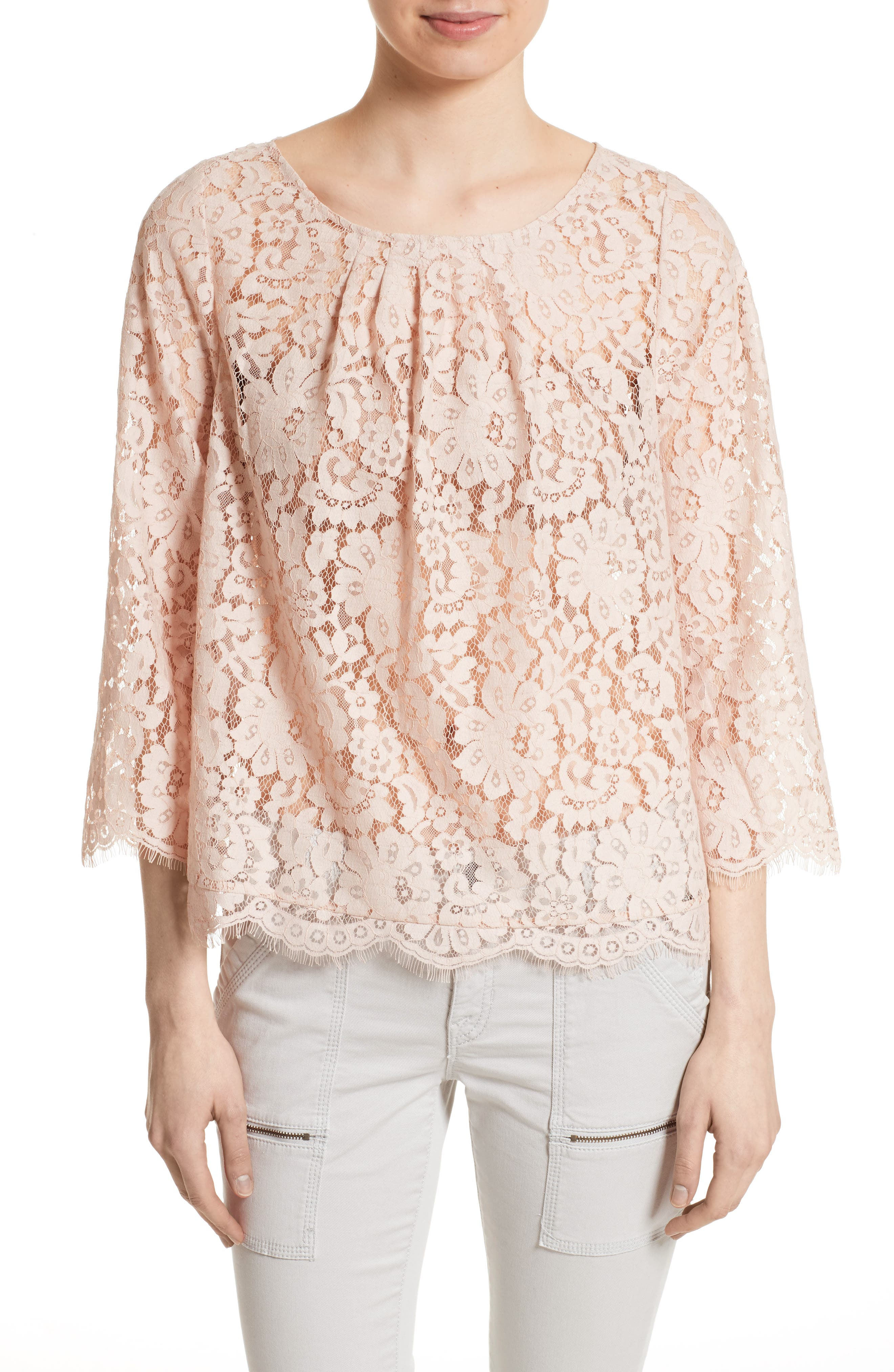 Alternate Image 1 Selected - Joie Cordella Lace Top