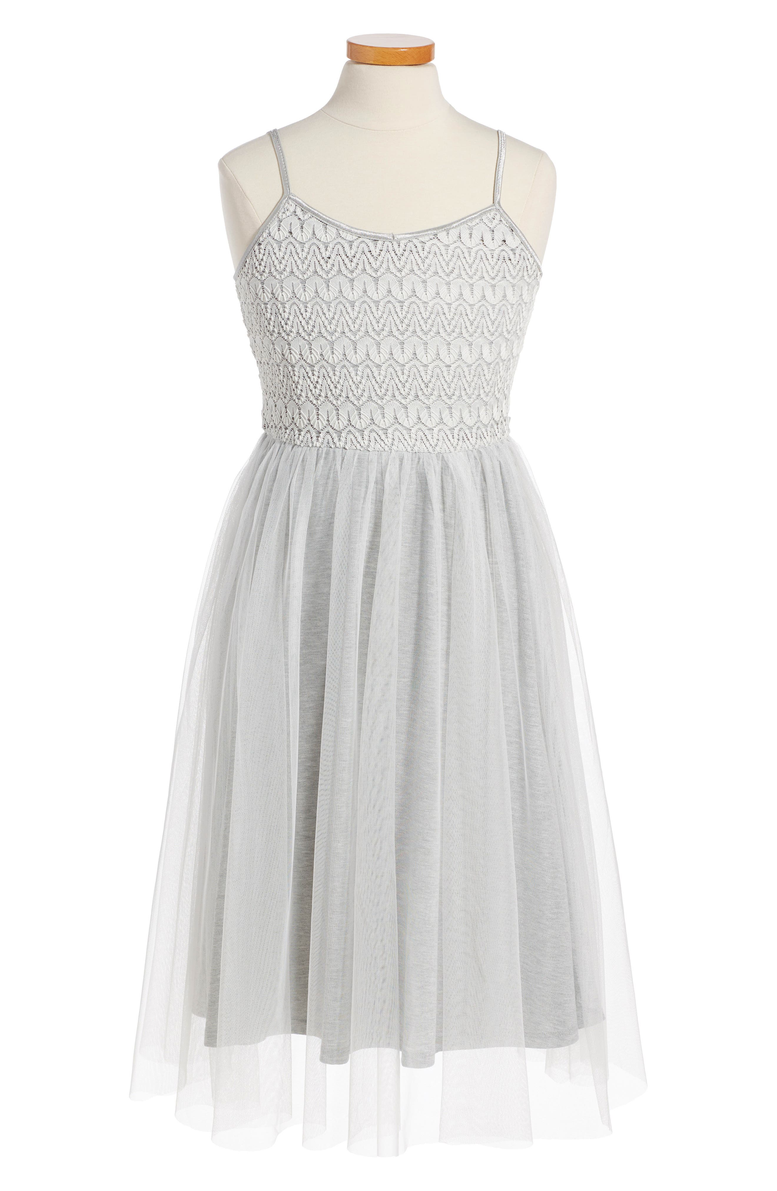 RUBY & BLOOM Crochet Ballet Dress