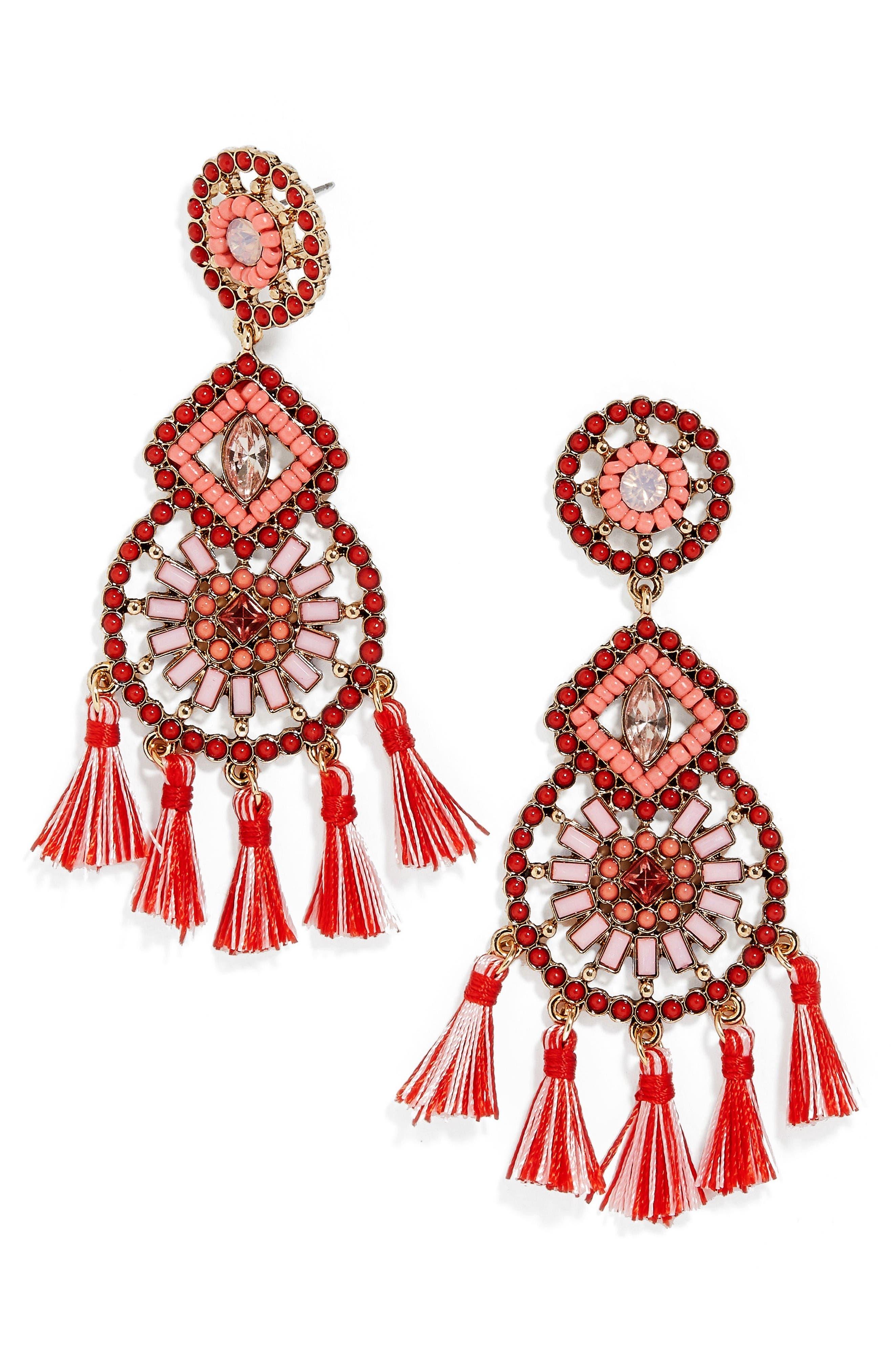 Alternate Image 1 Selected - BaubleBar Noelani Drop Earrings
