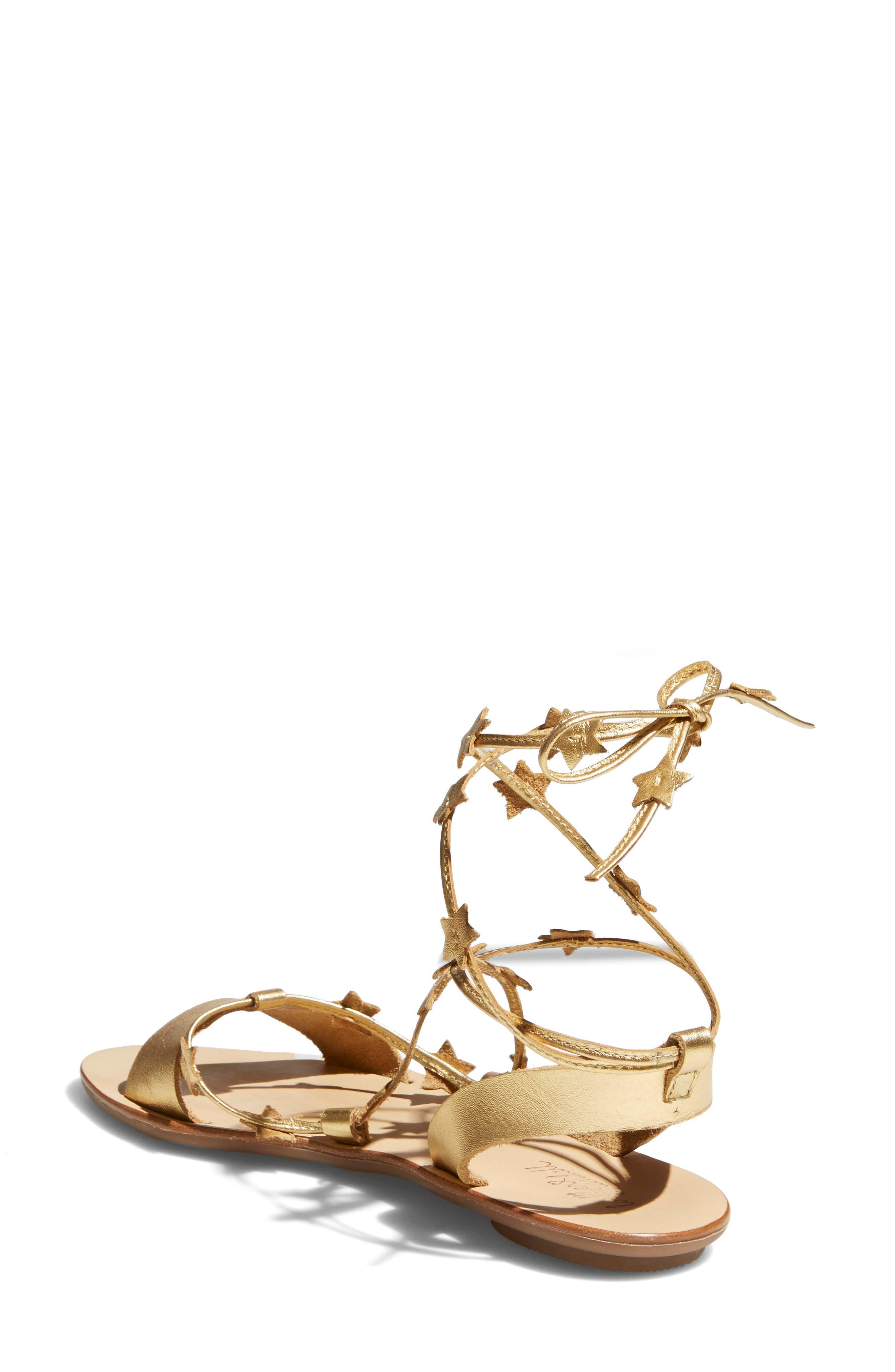 Alternate Image 2  - Loeffler Randall Starla Ankle Wrap Sandal (Women)