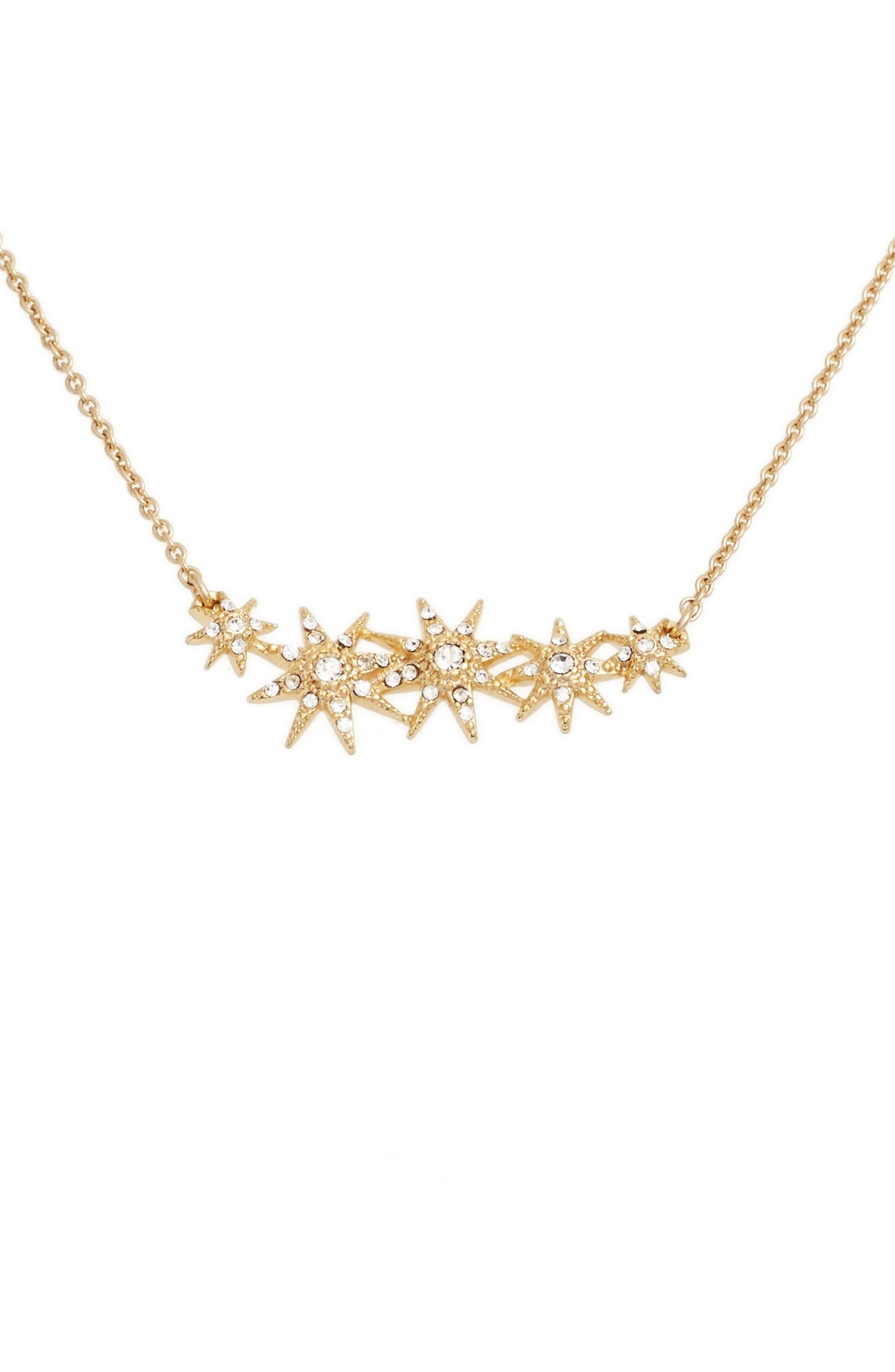 Jenny Packham Star Pendant Necklace