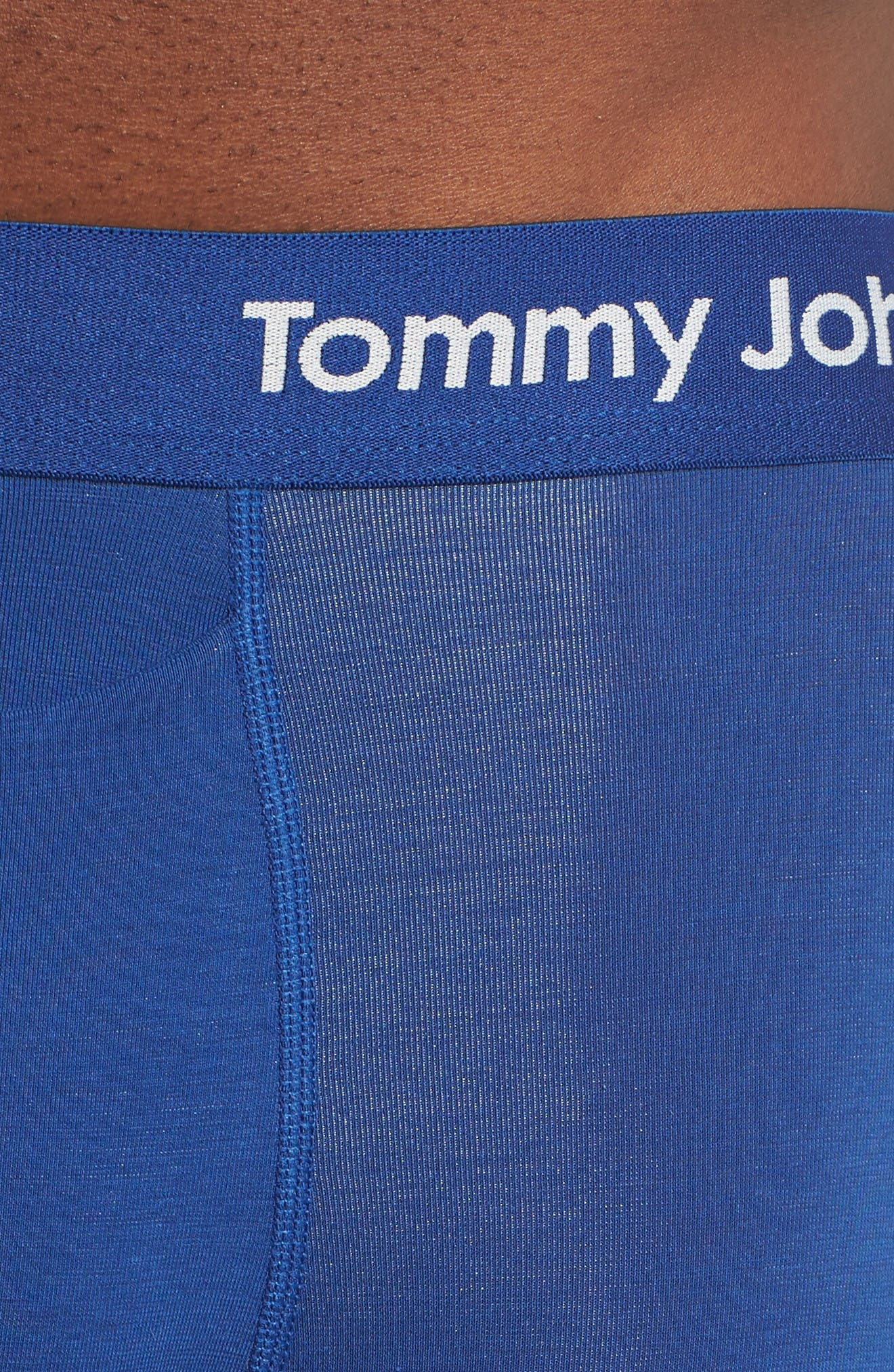 Alternate Image 4  - Tommy John Cool Cotton Boxer Briefs