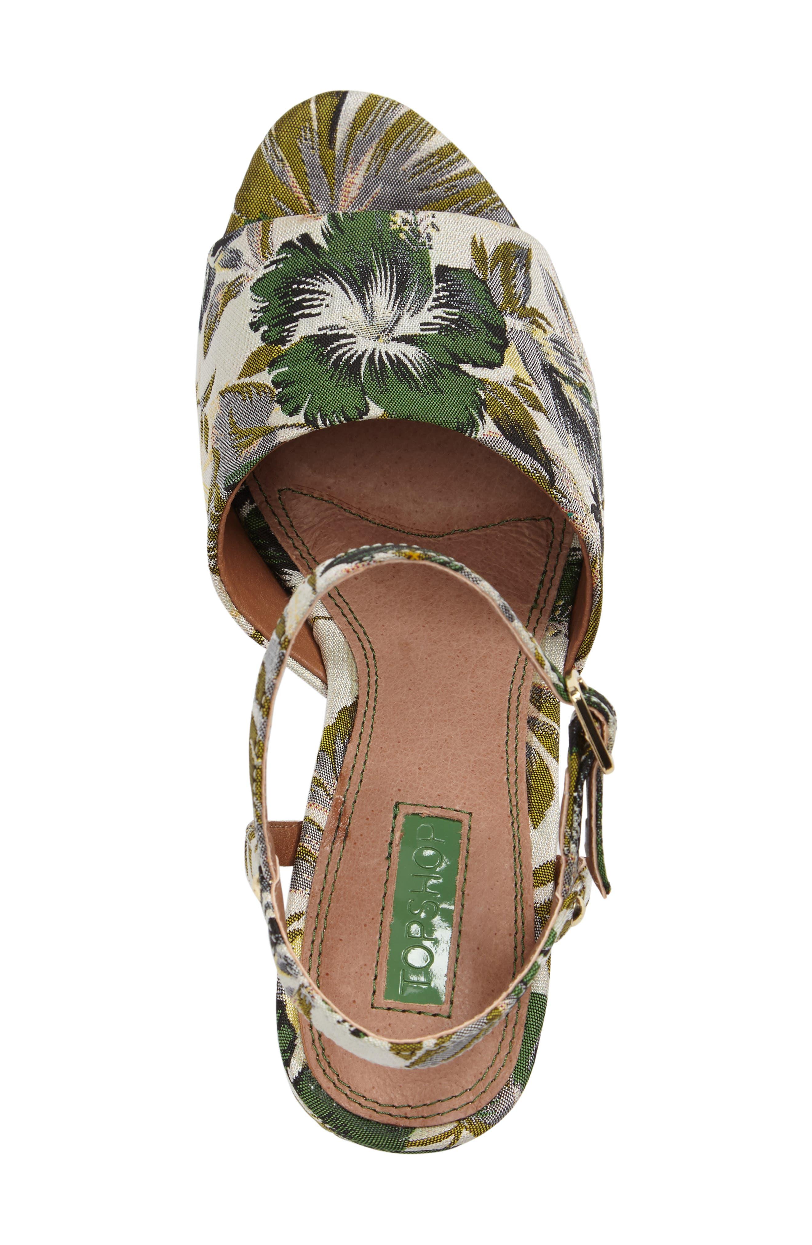 Alternate Image 3  - Topshop Lava Platform Sandal (Women)