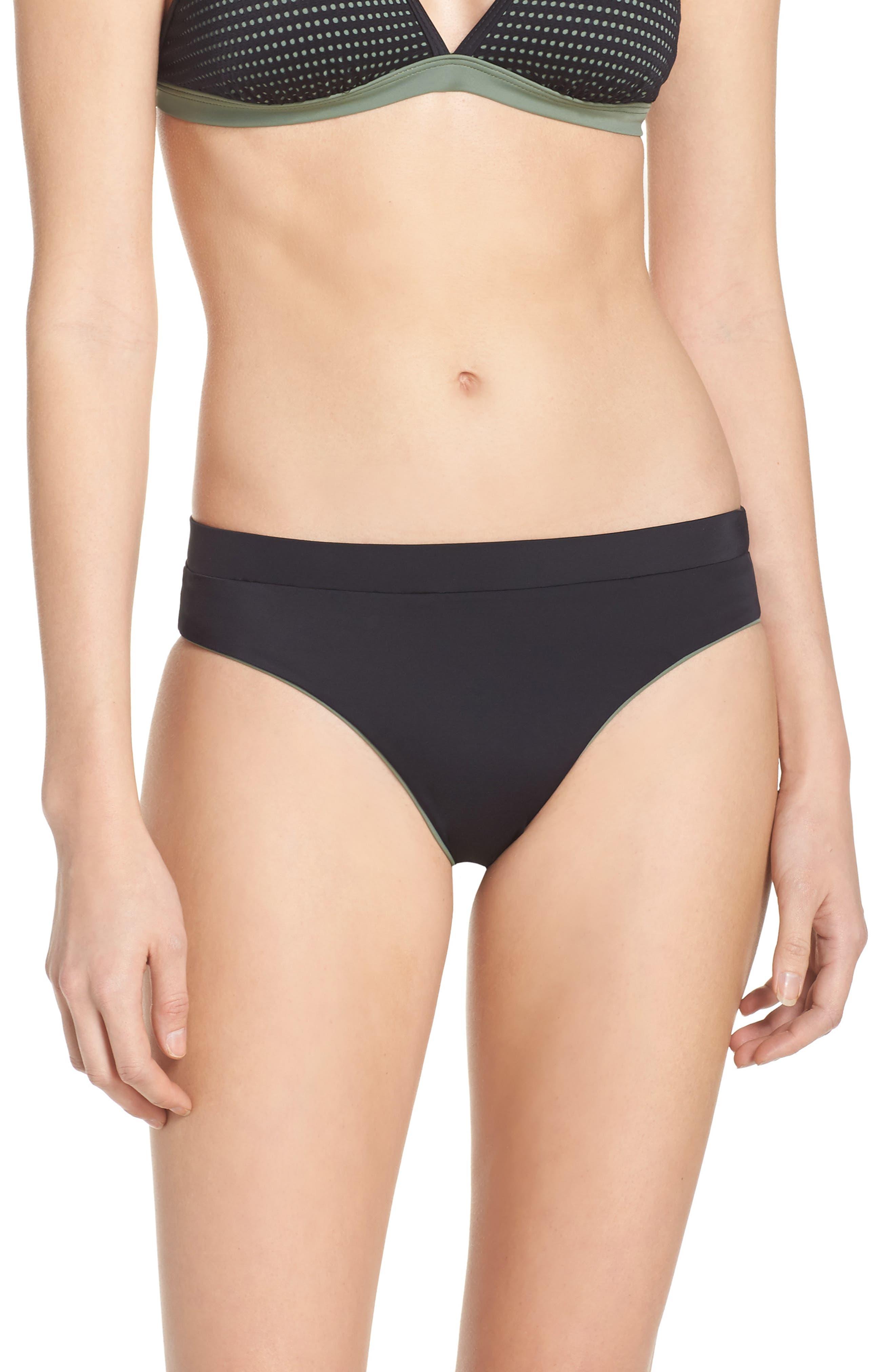 Zella Reversible Bikini Bottoms