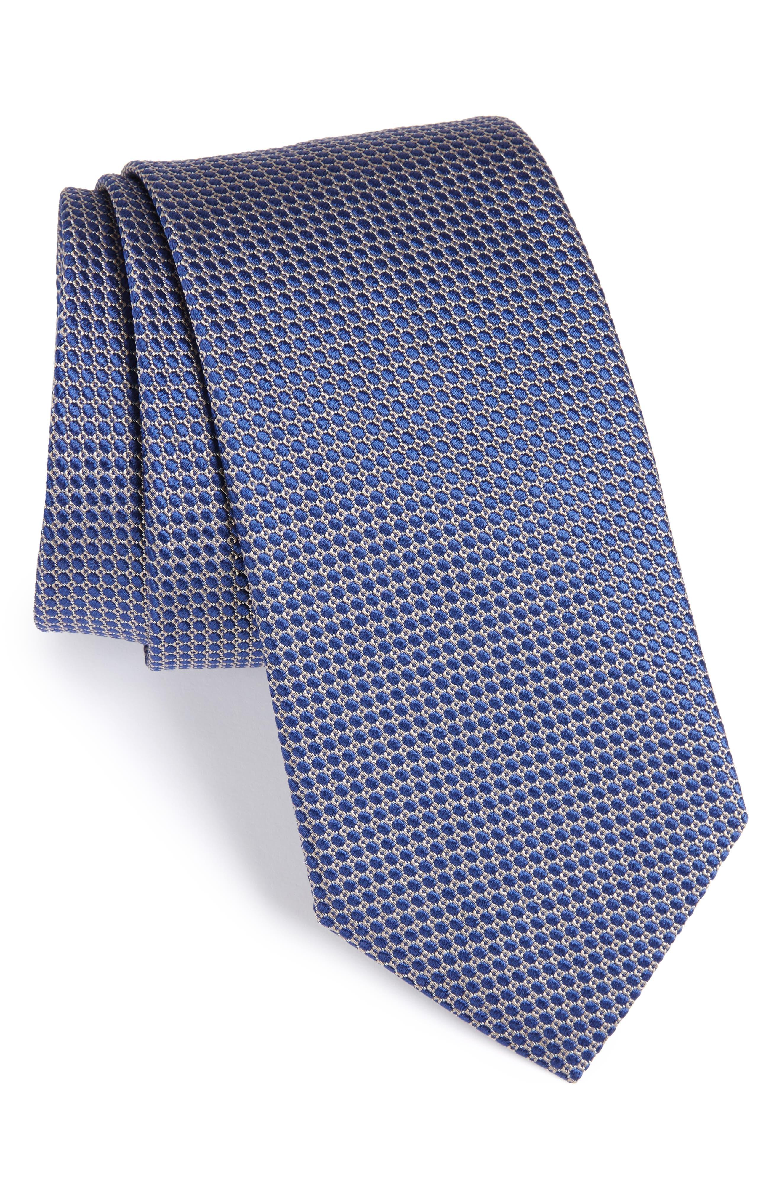 Eton Circle Geometric Silk Tie
