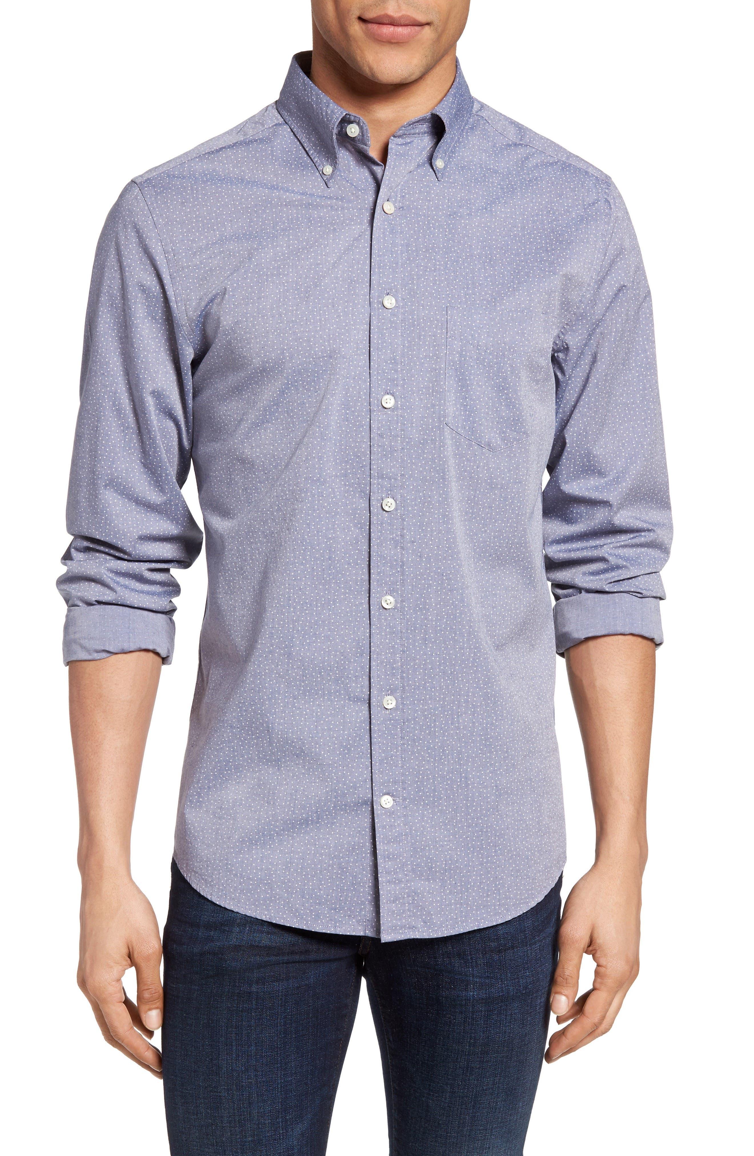 Gant Dot Print Sport Shirt