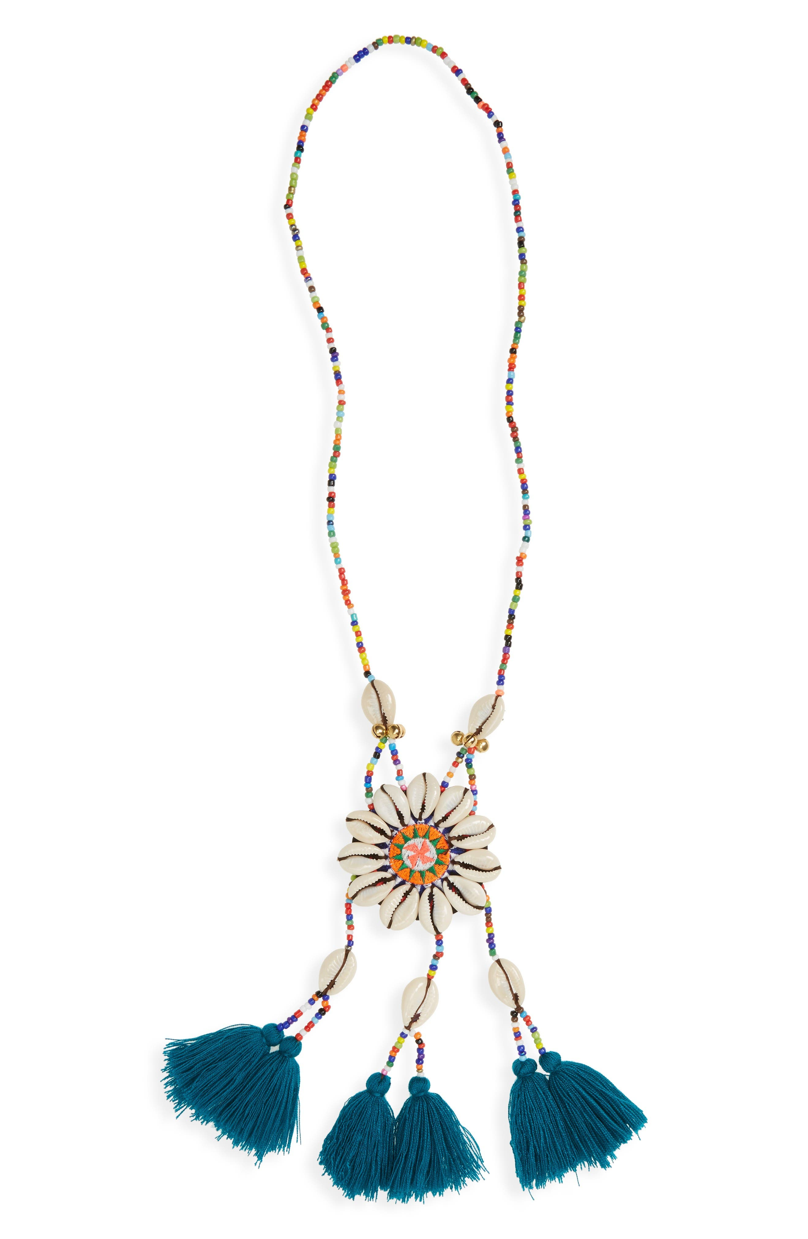 Main Image - Panacea Beaded Shell Necklace
