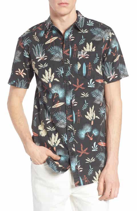 Globe Sunburnt Print Shirt