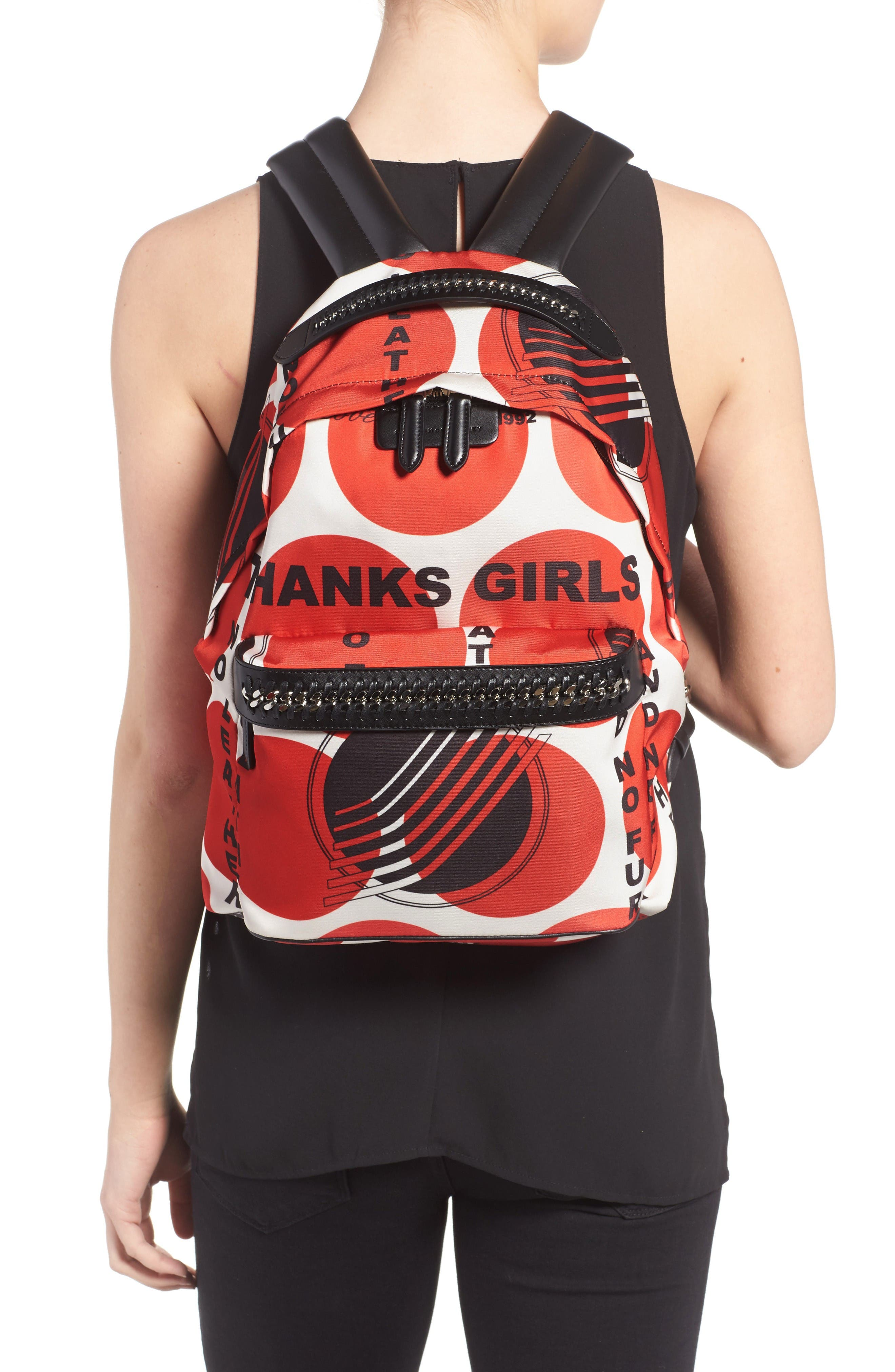 Alternate Image 2  - Stella McCartney Thanks Girls Nylon Backpack