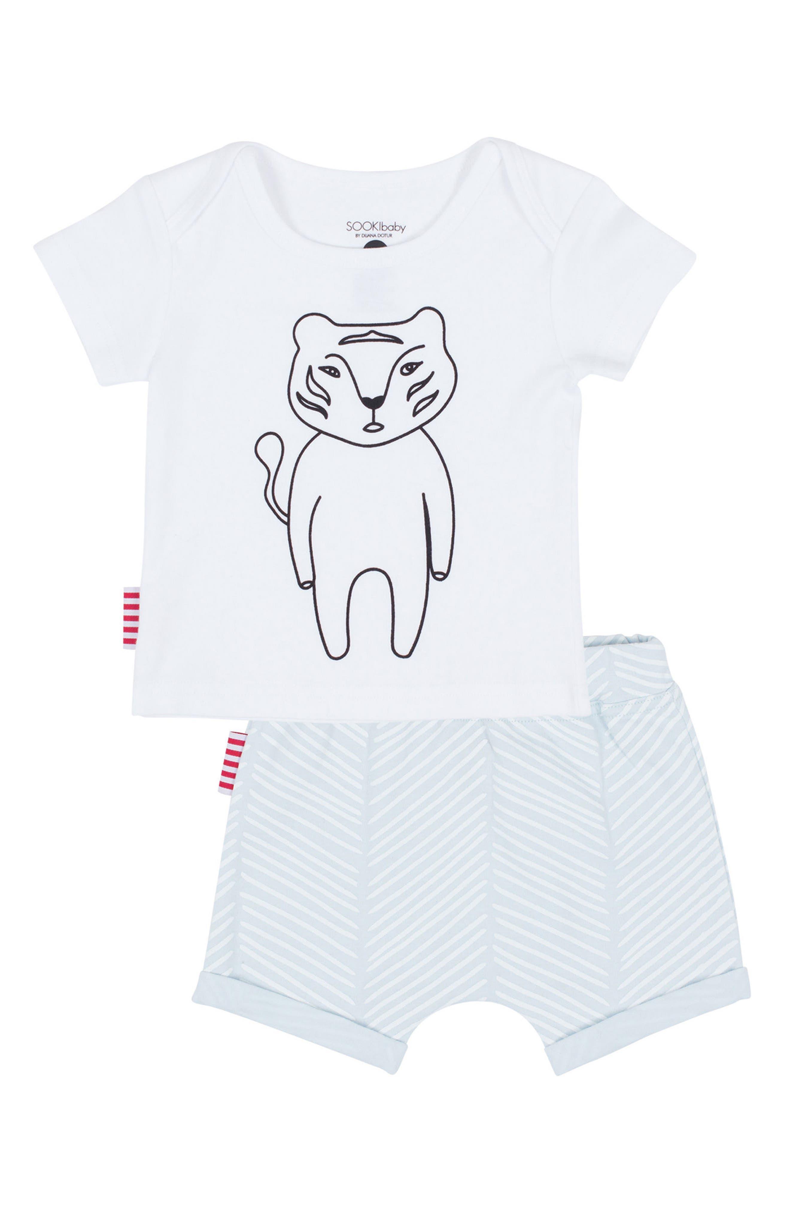 SOOKIbaby Tee & Shorts Set (Baby)