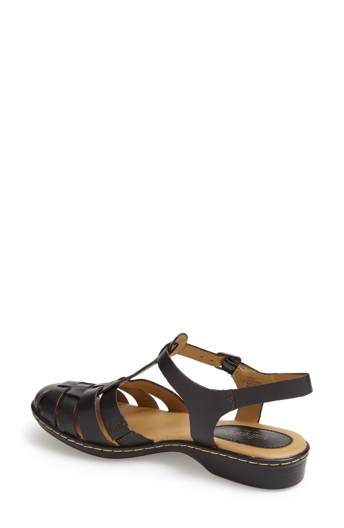 Alternate Image 2  - Softspots 'Holly' Leather T-Strap Huarache Sandal (Women)