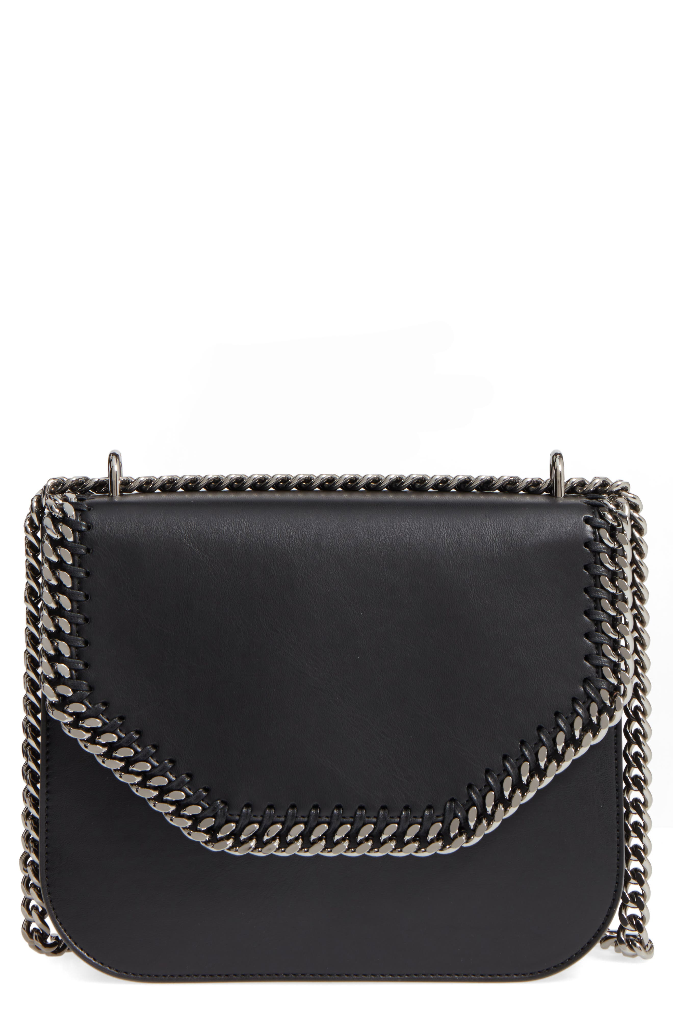 Alternate Image 1 Selected - Stella McCartney Falabella Box Faux Leather Crossbody Bag