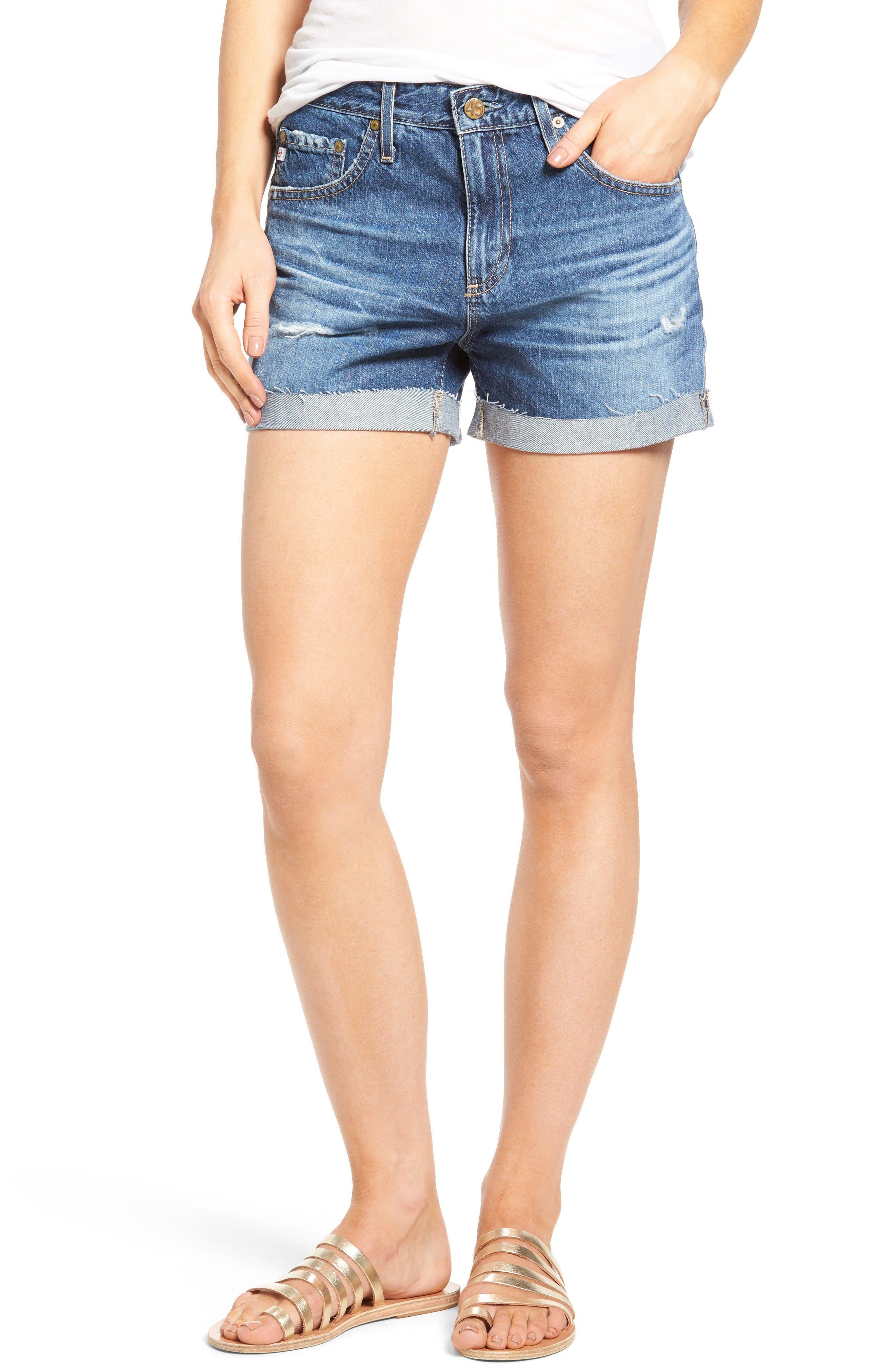 AG Hailey Ex-Boyfriend Denim Shorts (09 Years Exemption)