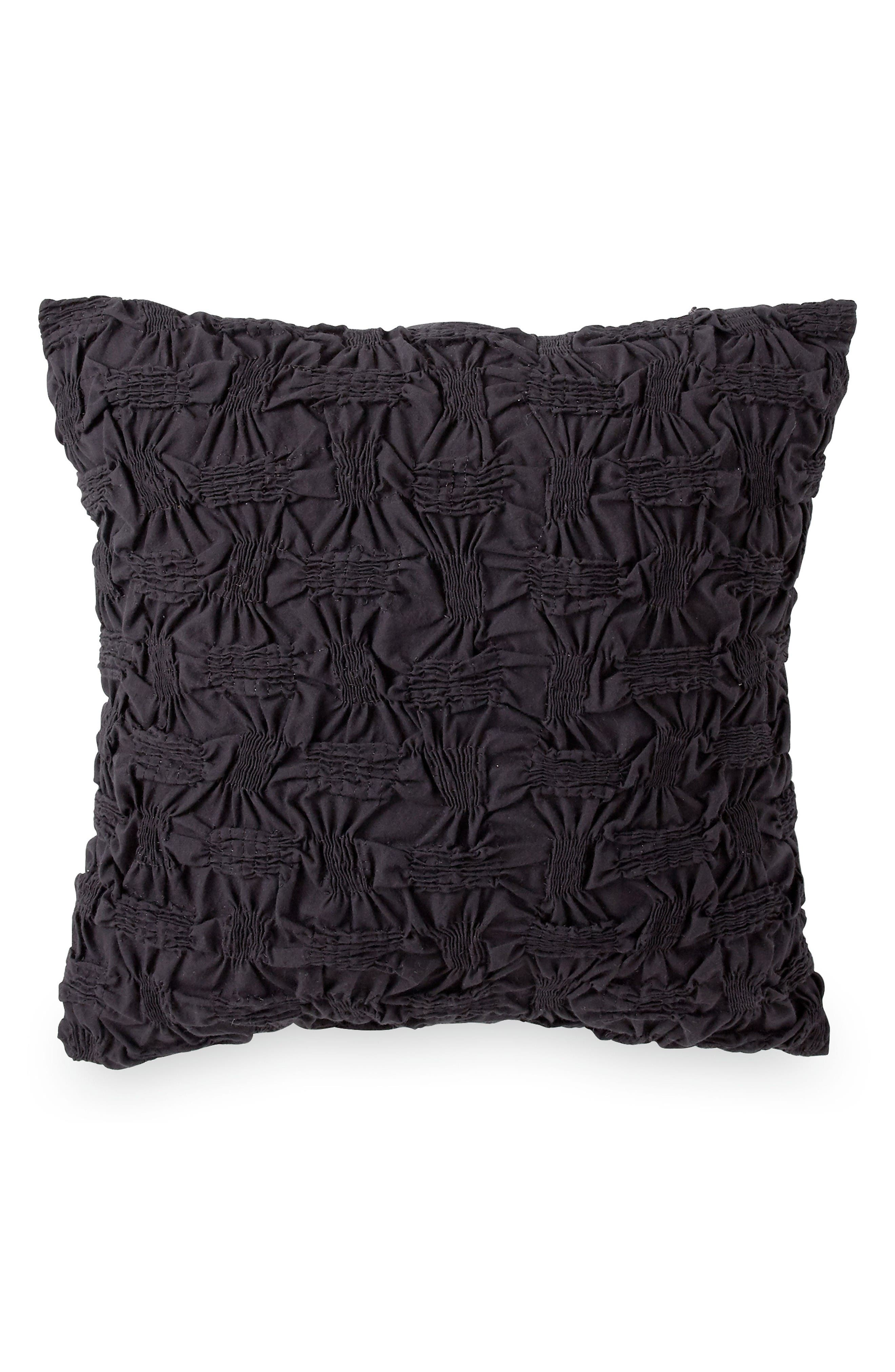 DKNY Ruched Accent Pillow
