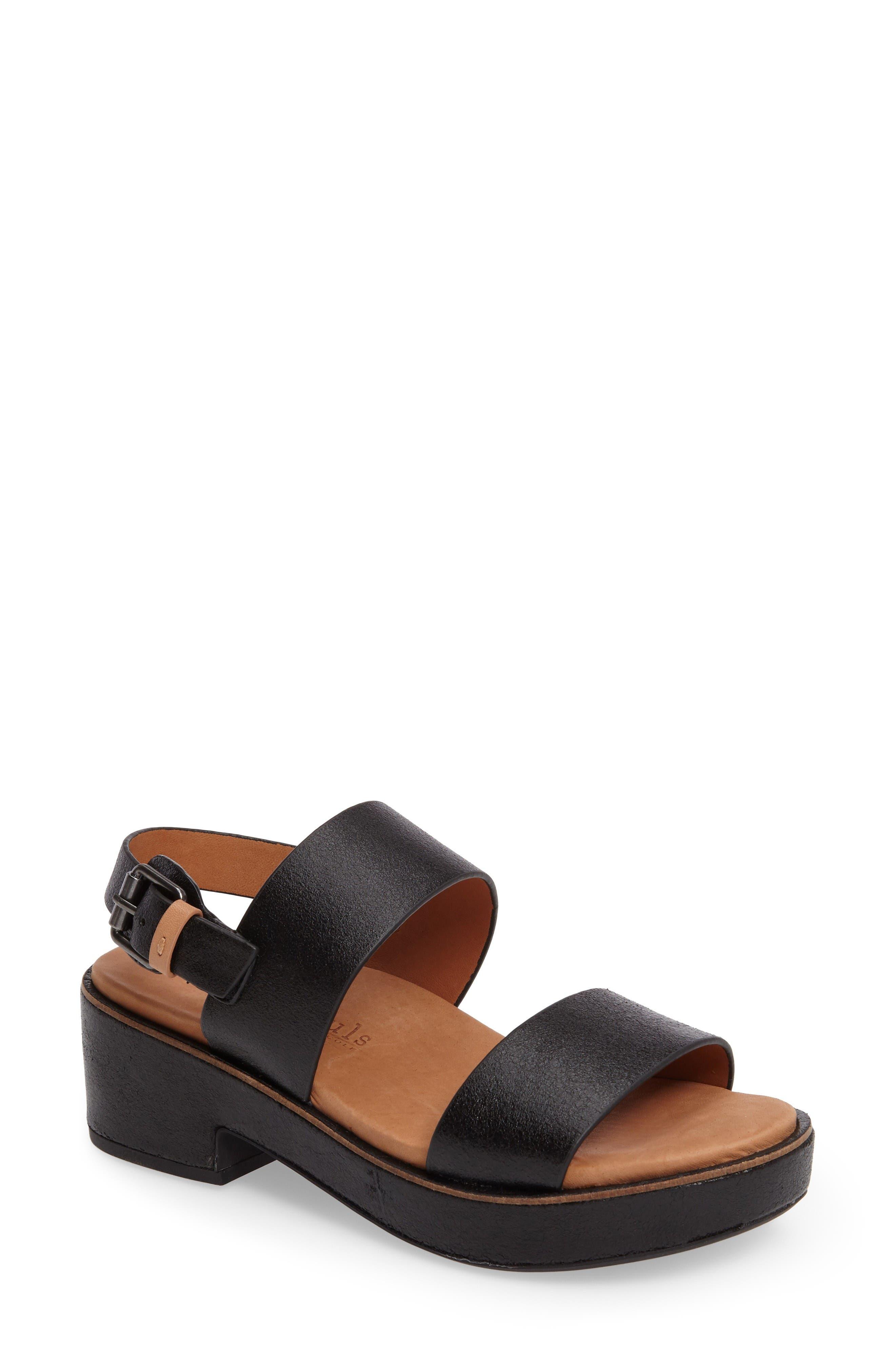Gentle Souls Talia Platform Sandal (Women)