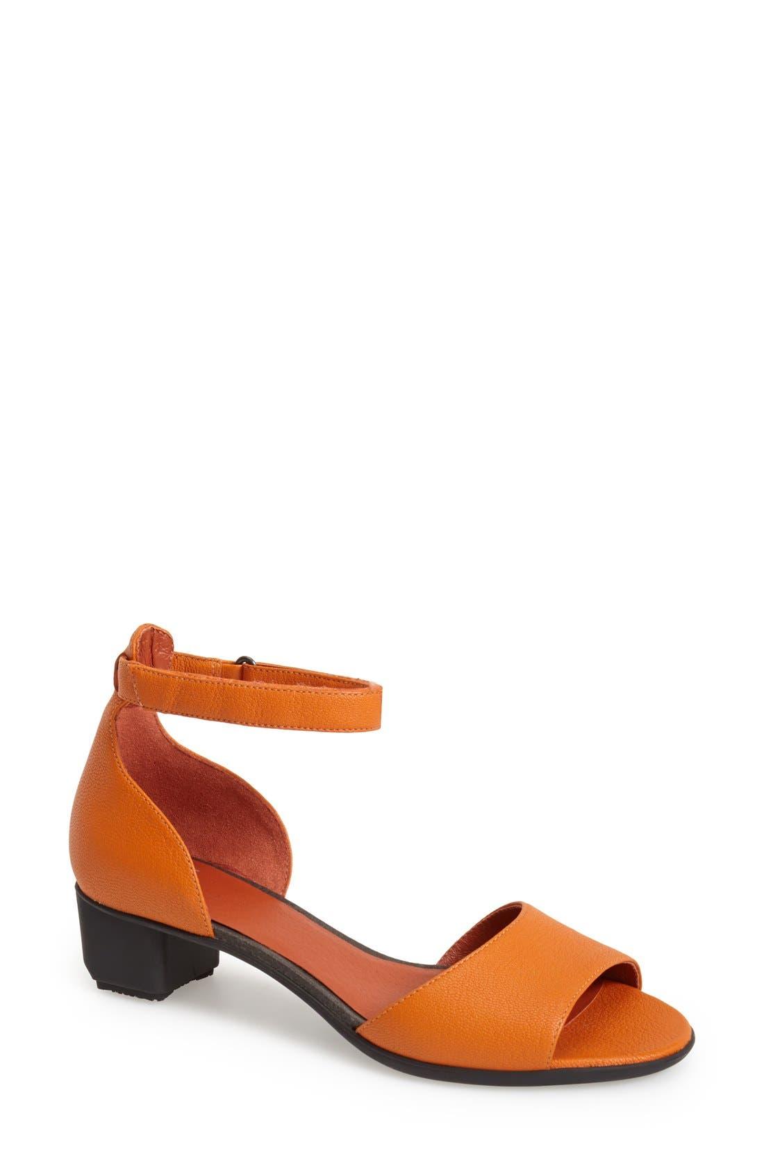 Alternate Image 1 Selected - Camper 'Beth' Ankle Strap Sandal (Women)