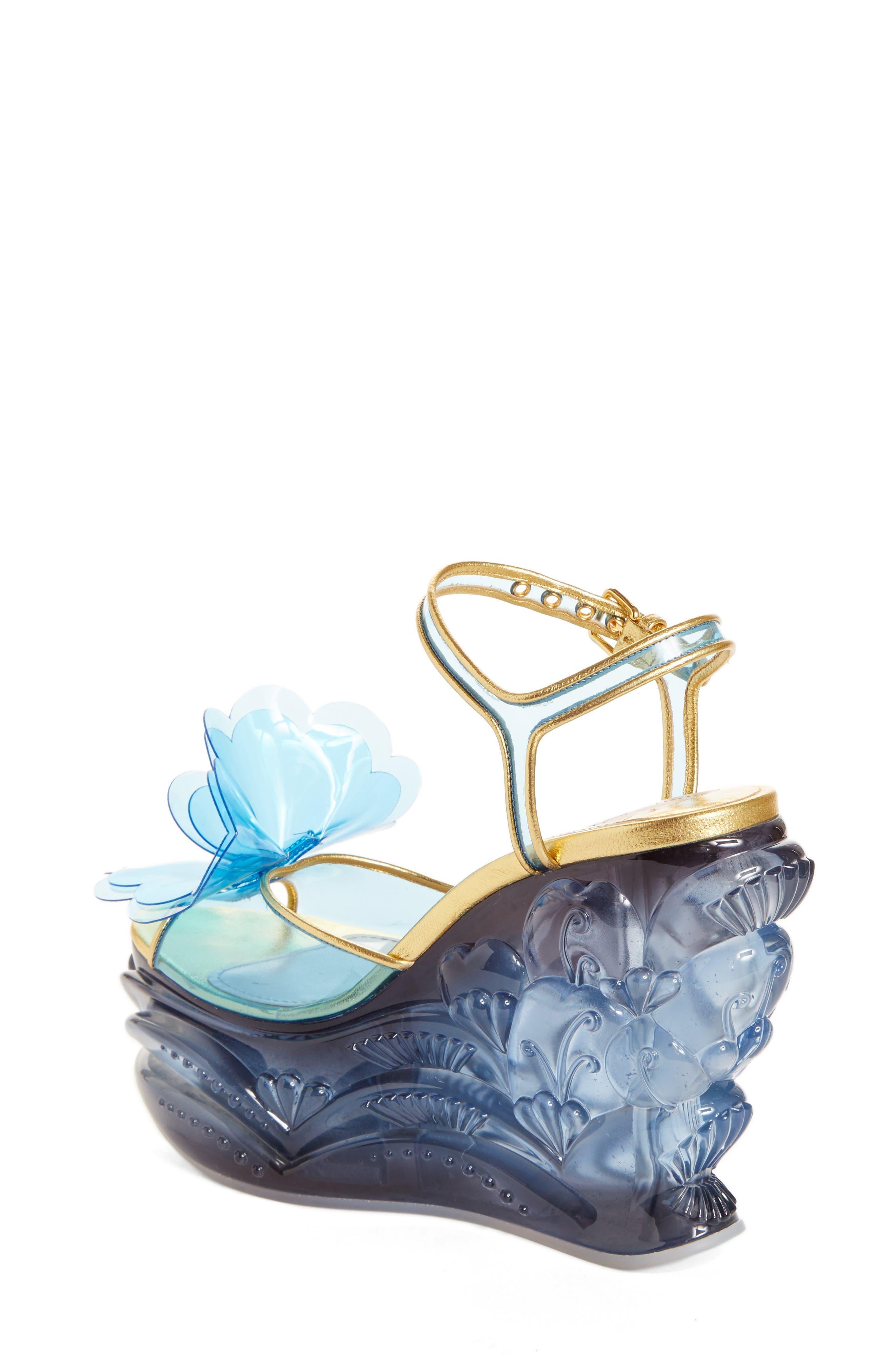 Alternate Image 2  - Miu Miu Wedge Sandal (Women)