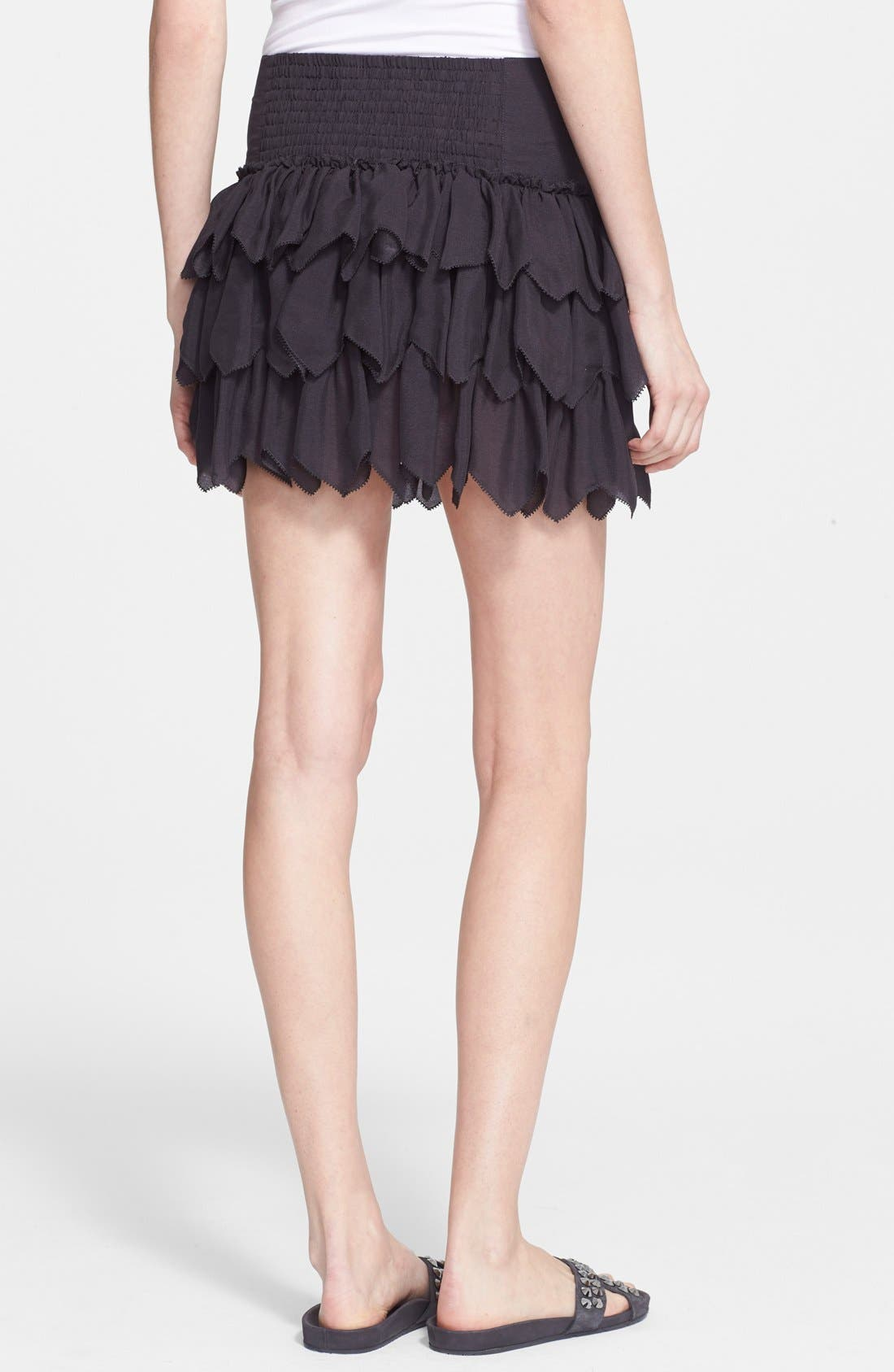 Alternate Image 2  - THE GREAT. 'The Tutu' Tiered Silk Skirt