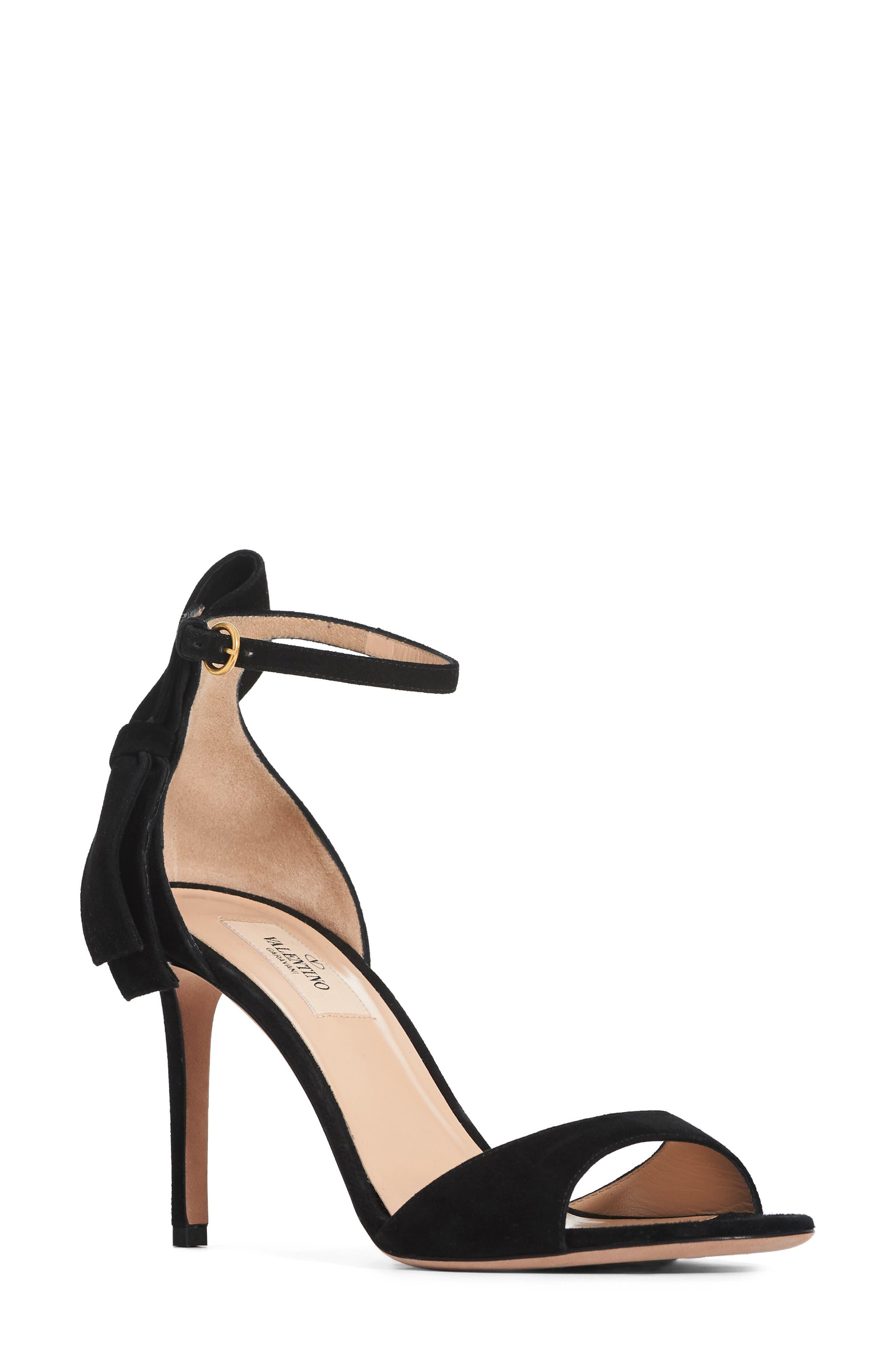 Main Image - Valentino Bow Heel Sandal (Women)