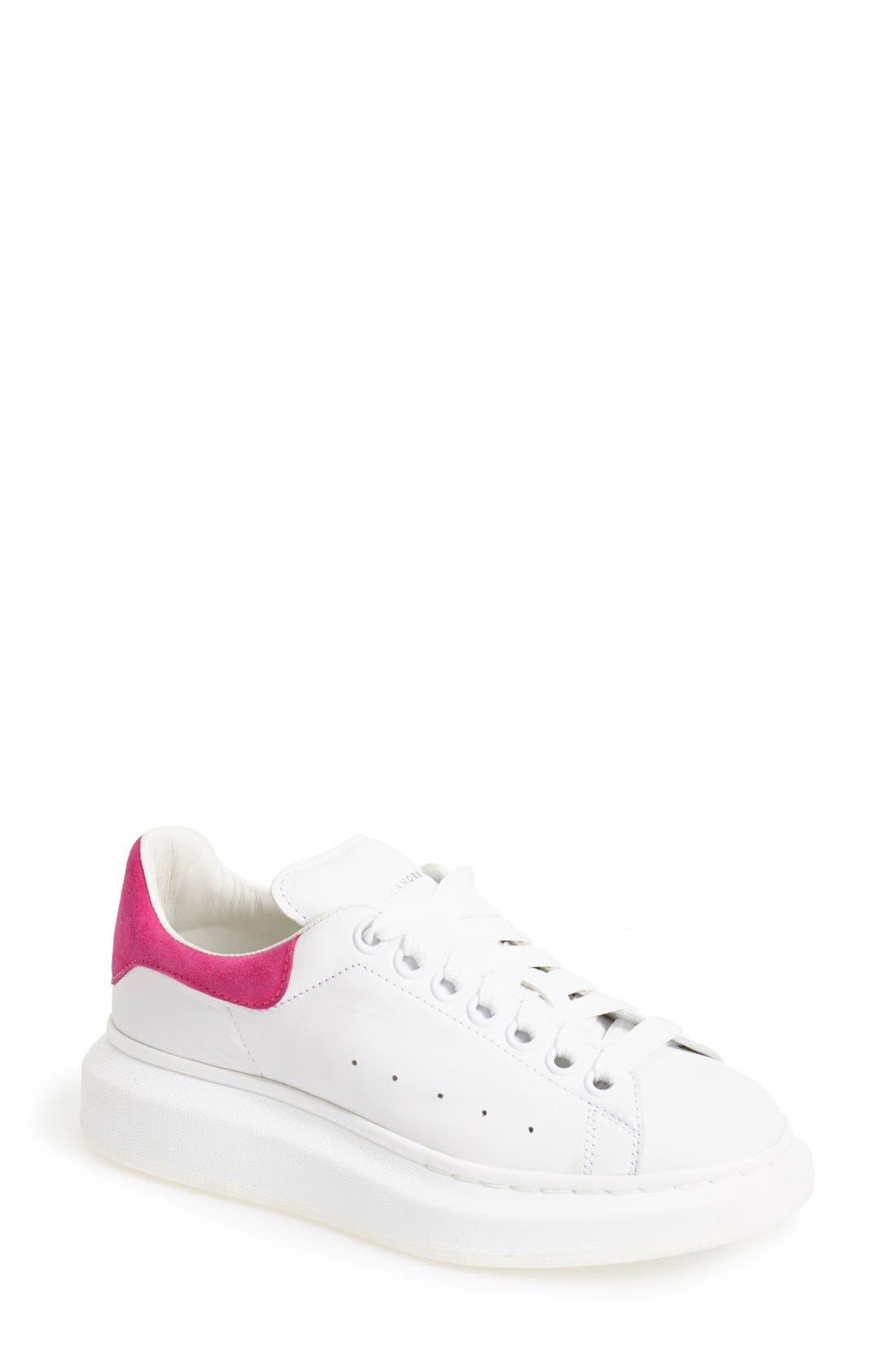 Alternate Image 1 Selected - Alexander McQueen Sneaker (Women)