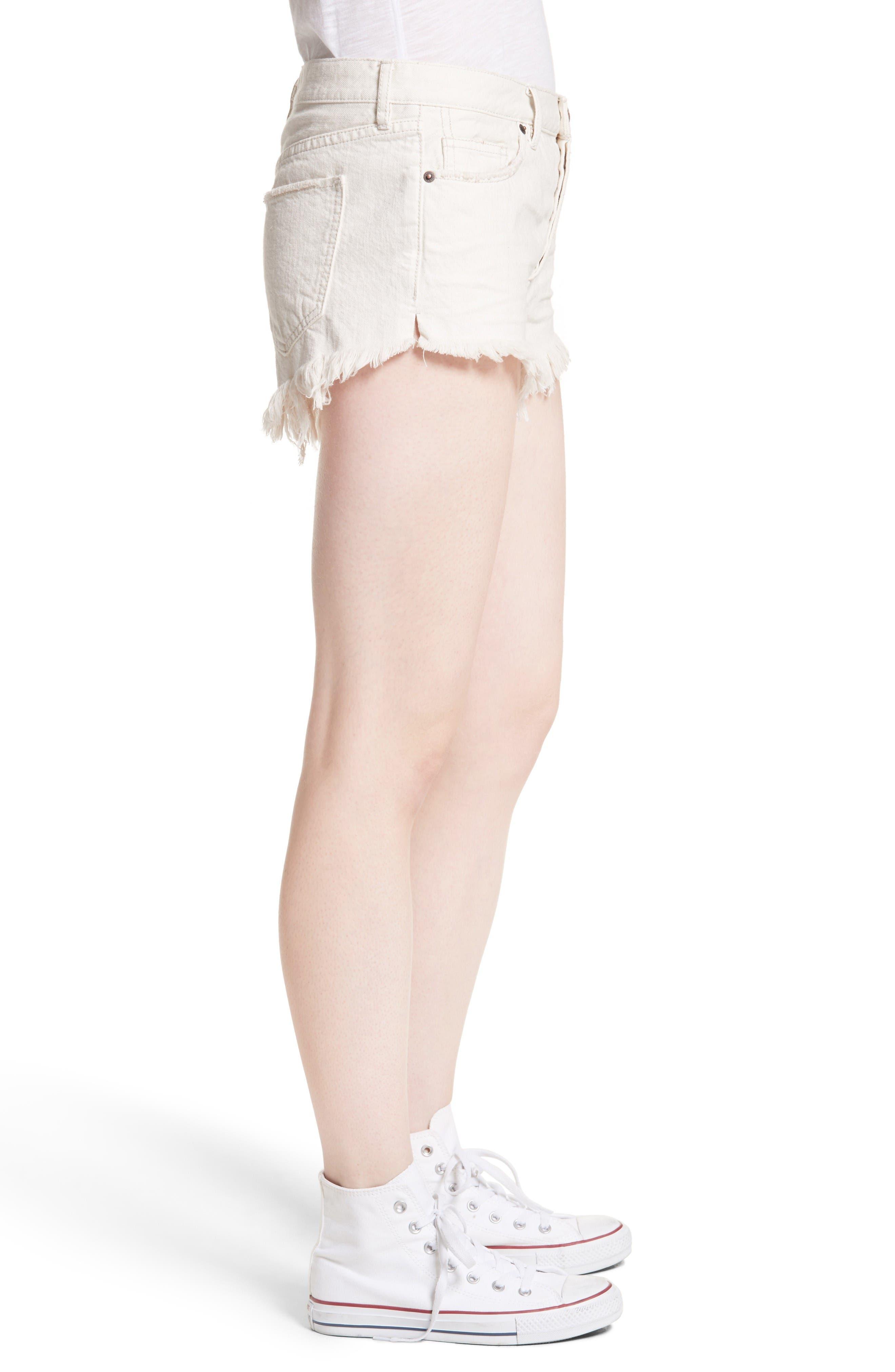 Alternate Image 3  - Free People Cutoff Denim Shorts