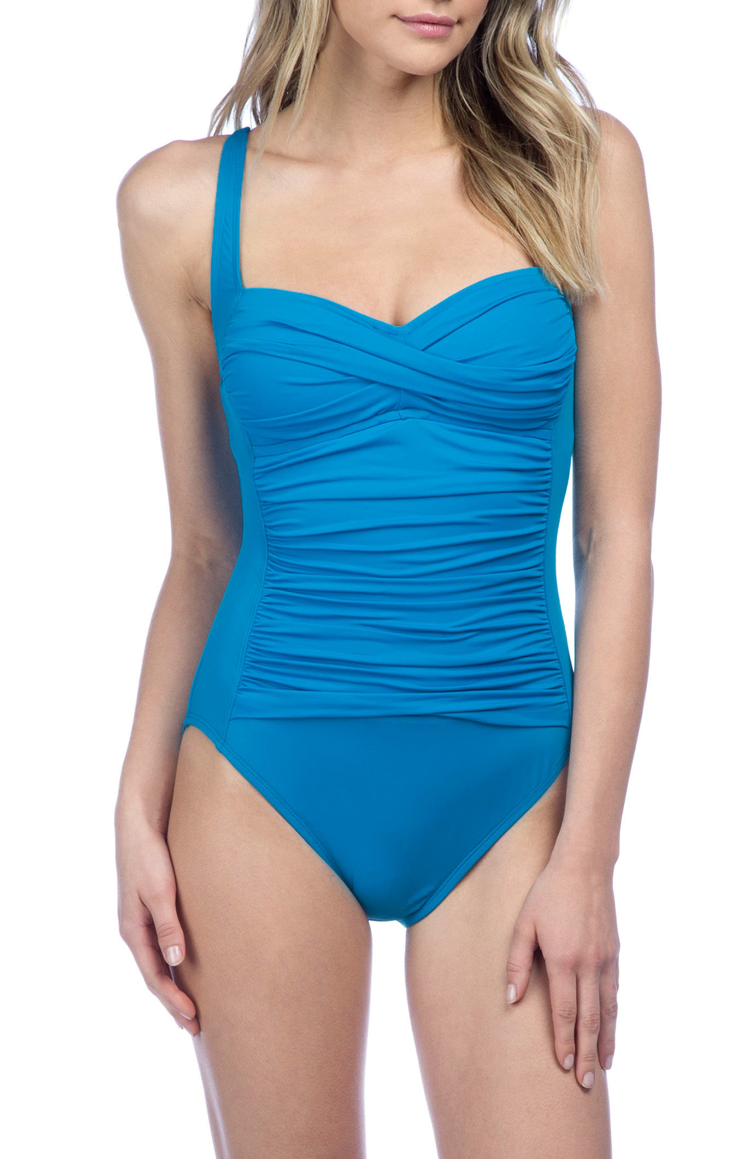 Alternate Image 1 Selected - La Blanca 'Sweetheart' One-Piece Swimsuit