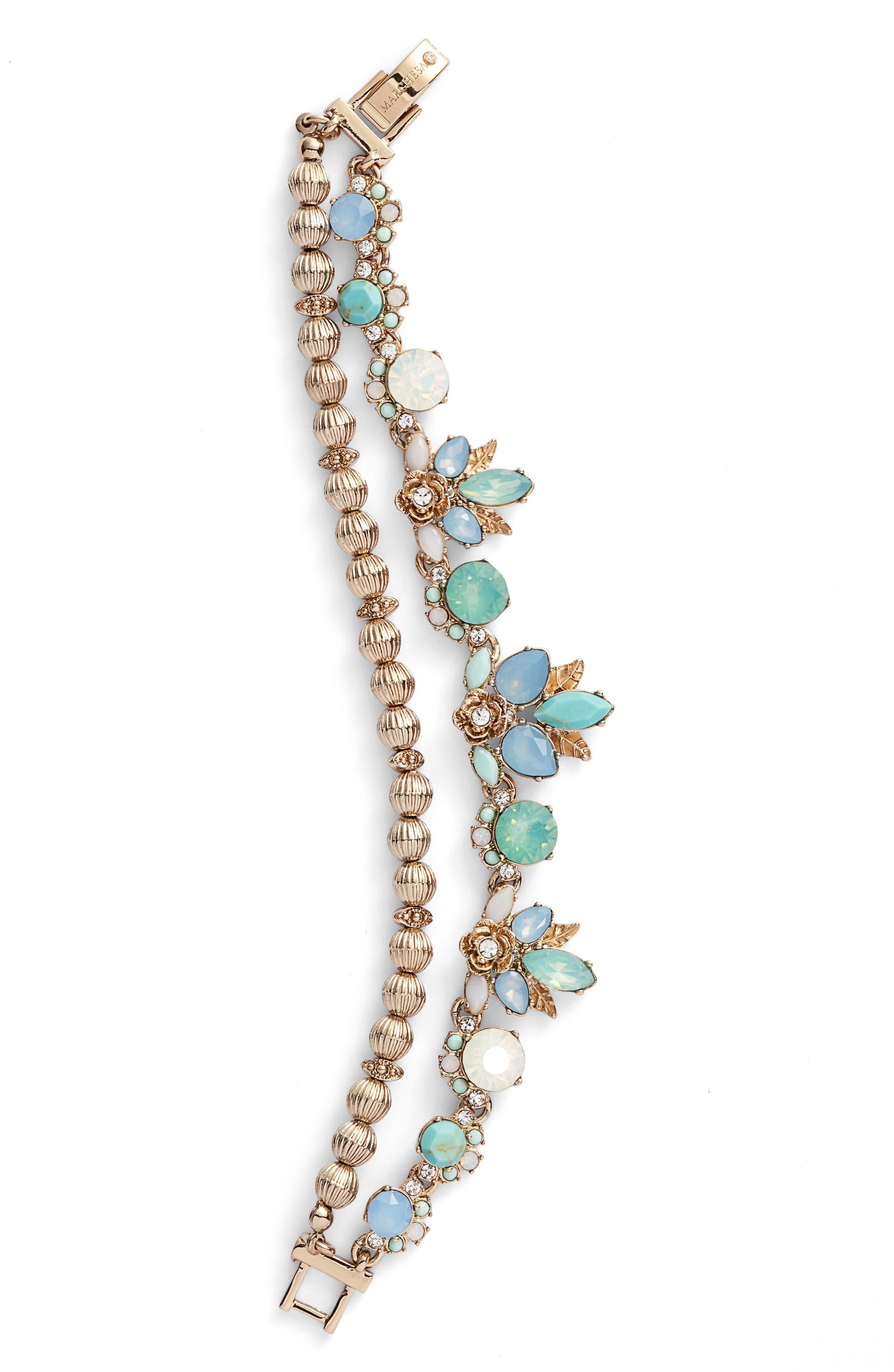 Marchesa Multistrand Flex Bracelet