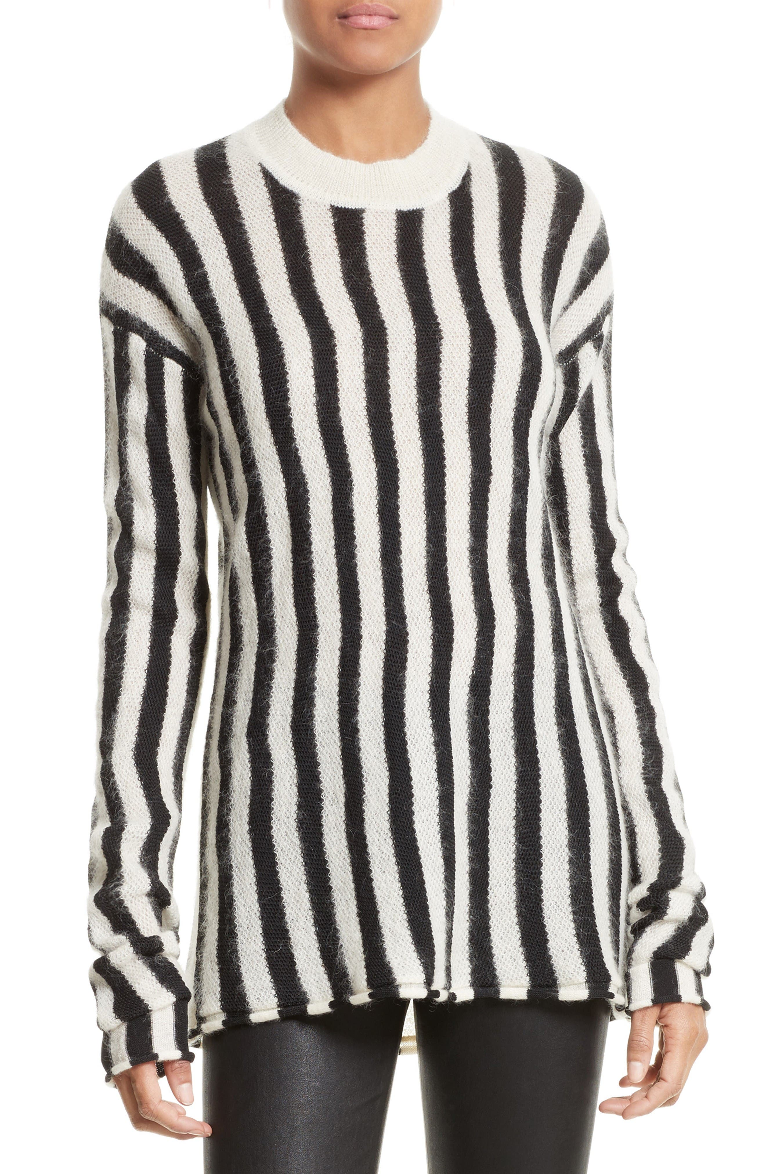 Helmut Lang Technical Stripe Pullover