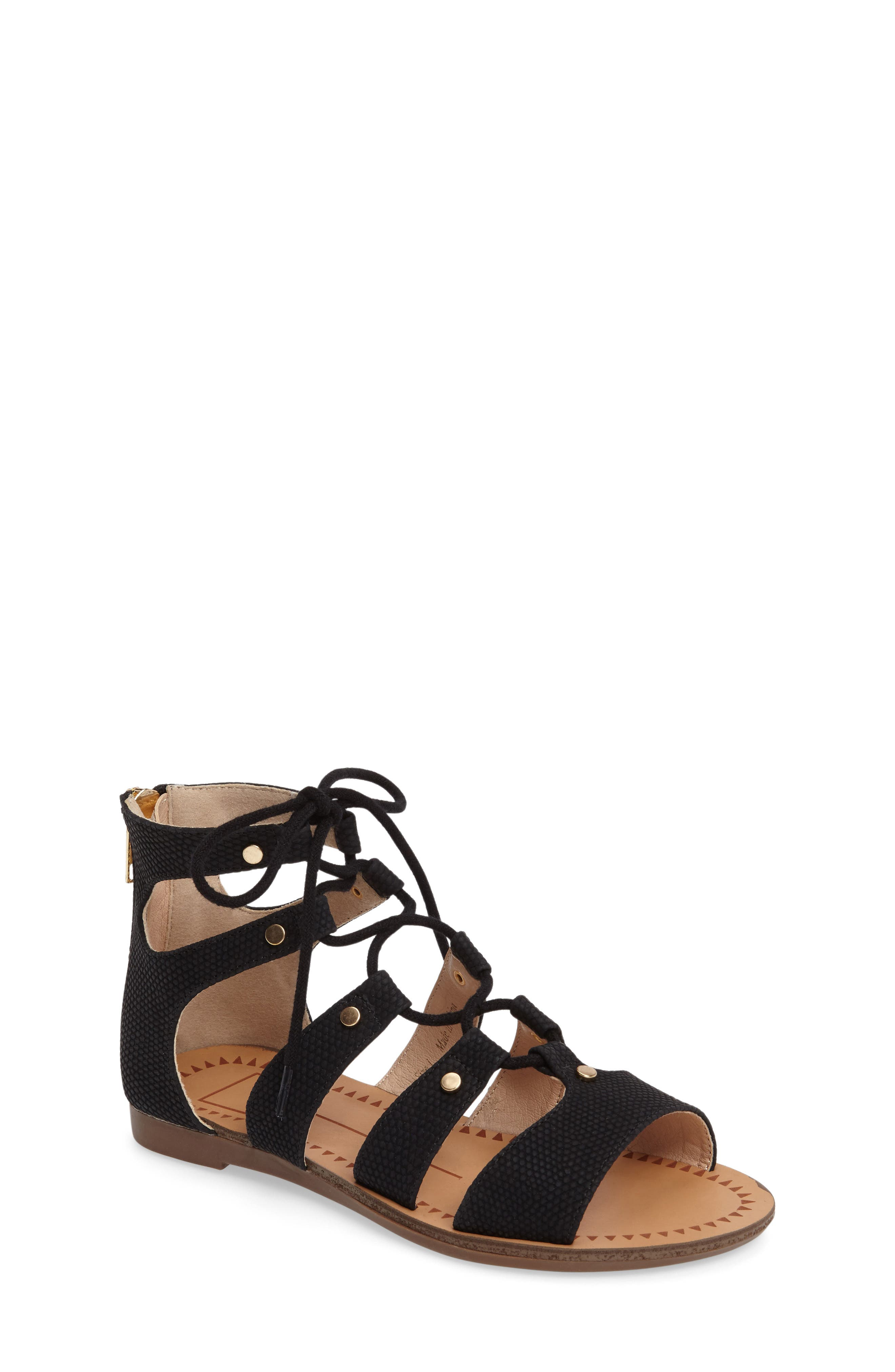Dolce Vita Footwear 'Brooke' Ghillie Sandal (Toddler, Little Kid & Big Kid)