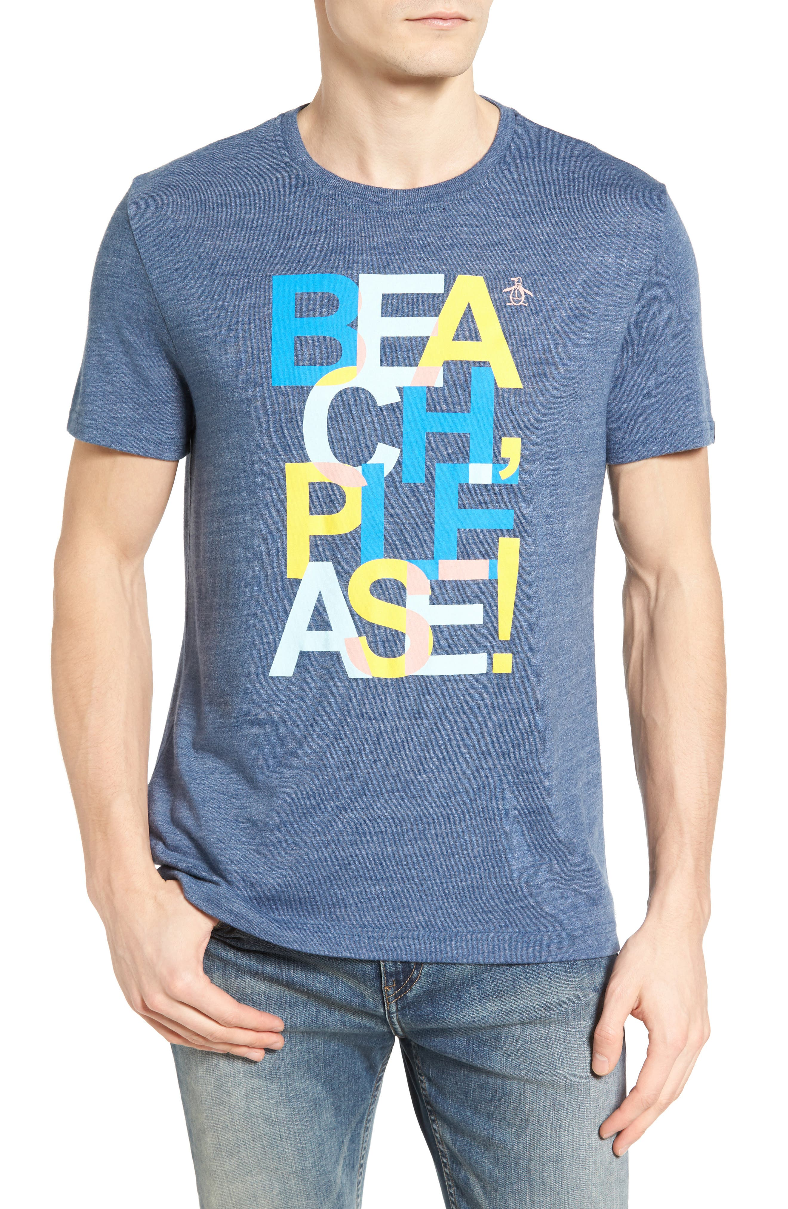 Original Penguin Beach Please Graphic T-Shirt