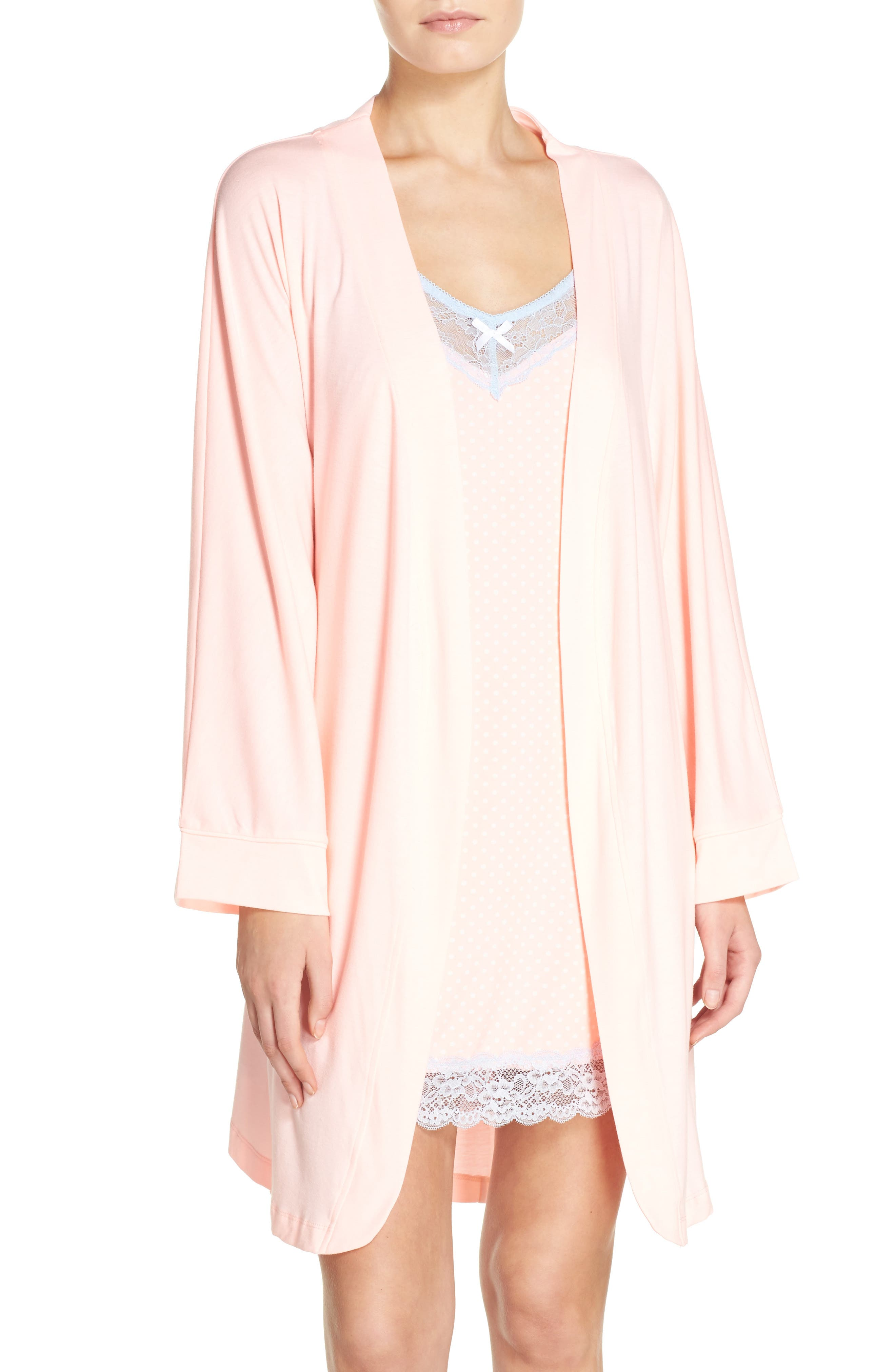 Alternate Image 4  - Honeydew Intimates Jersey Robe (2 for $60)