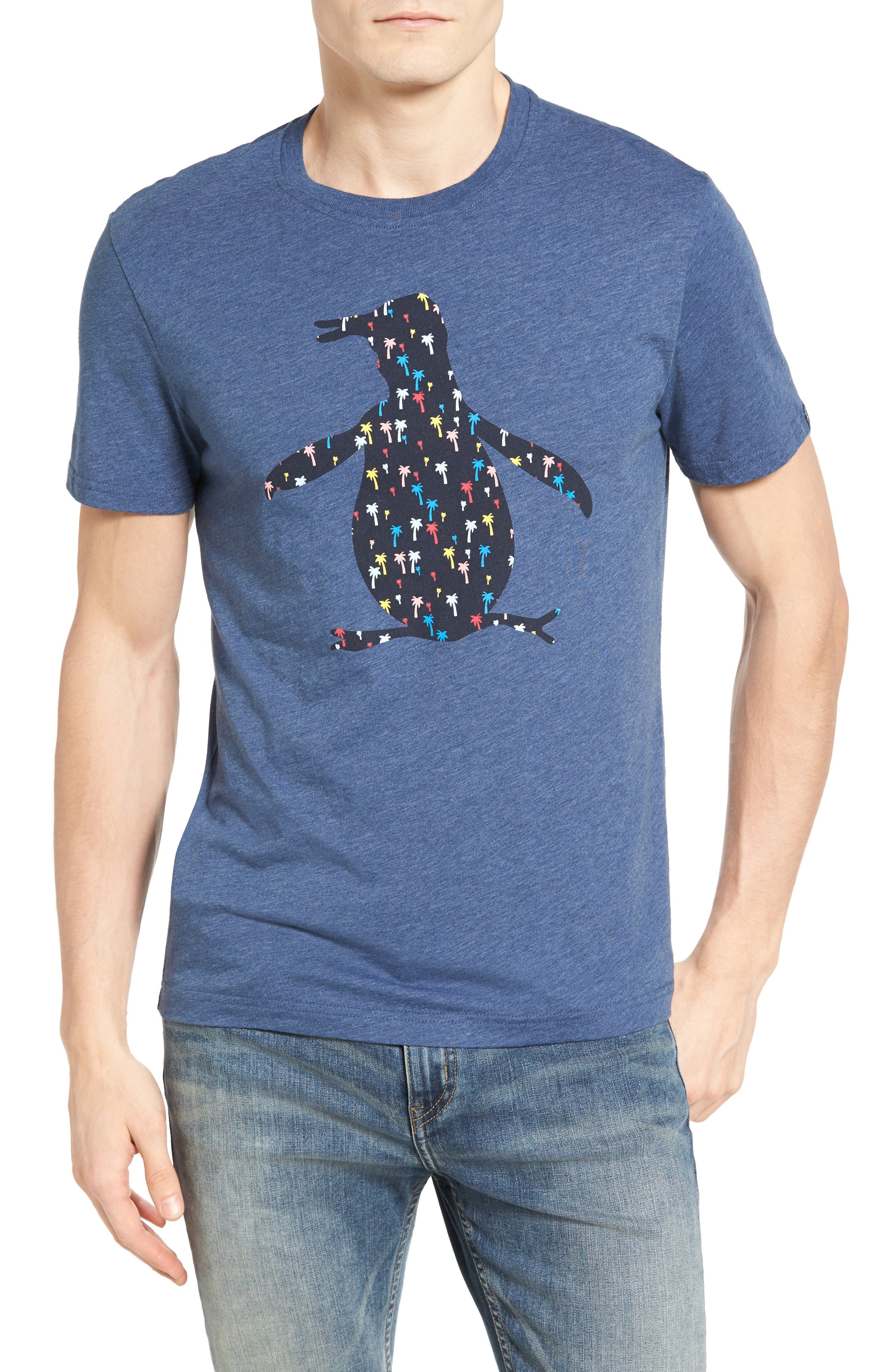 Original Penguin Confetti Palm T-Shirt