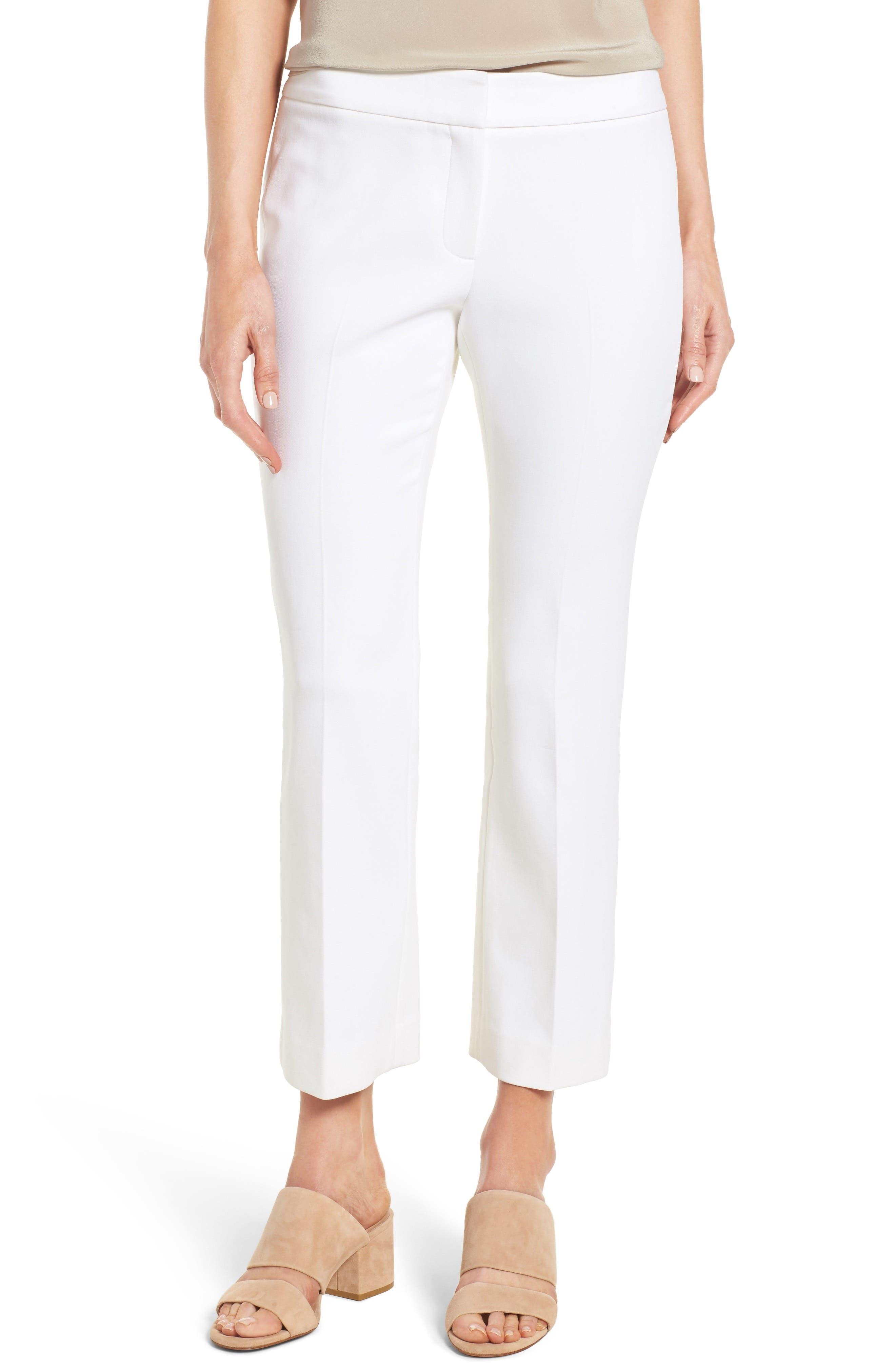 Classiques Entier® Crop Flare Leg Trousers