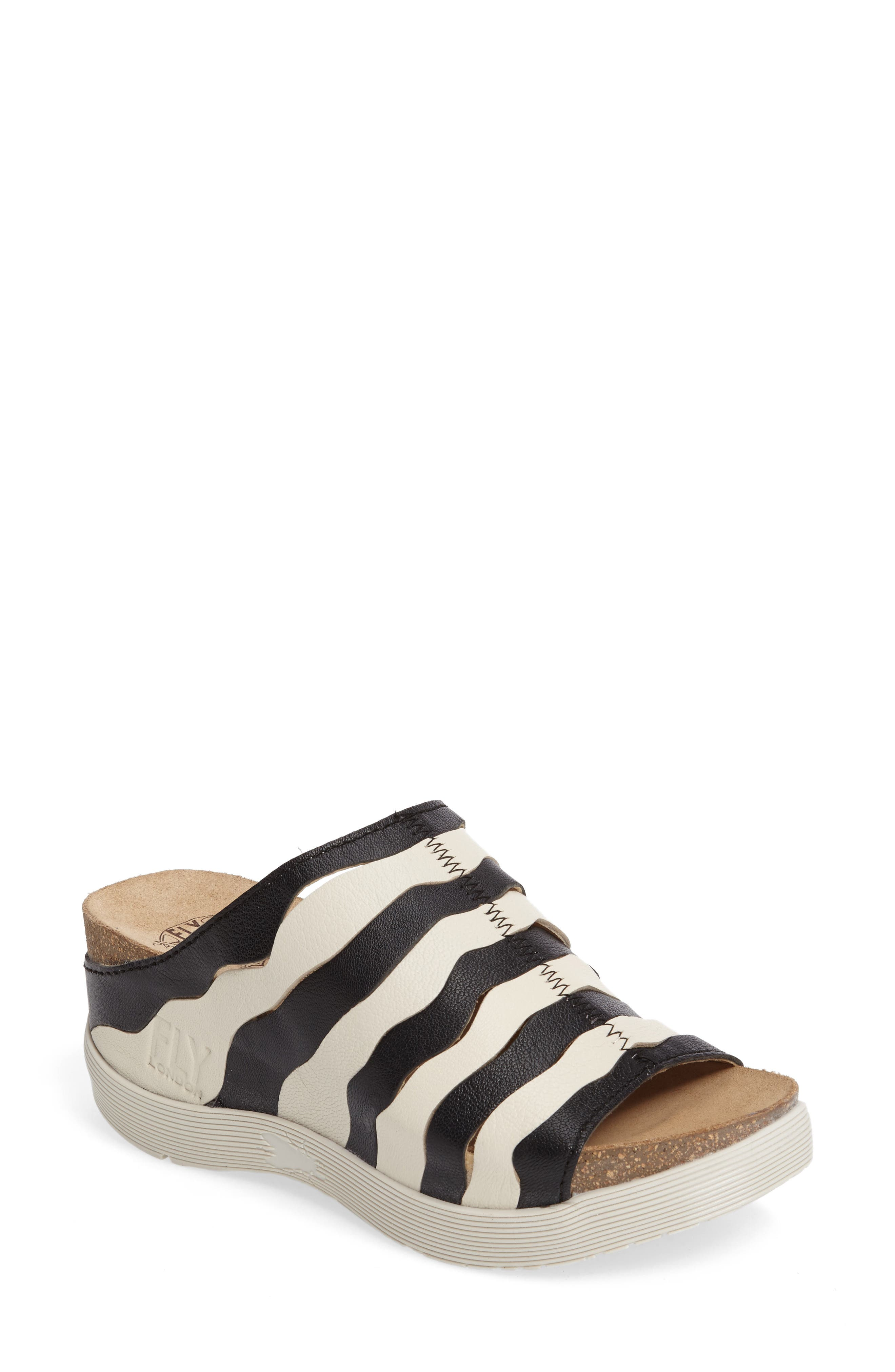 Fly London Wynt Wedge Sandal (Women)