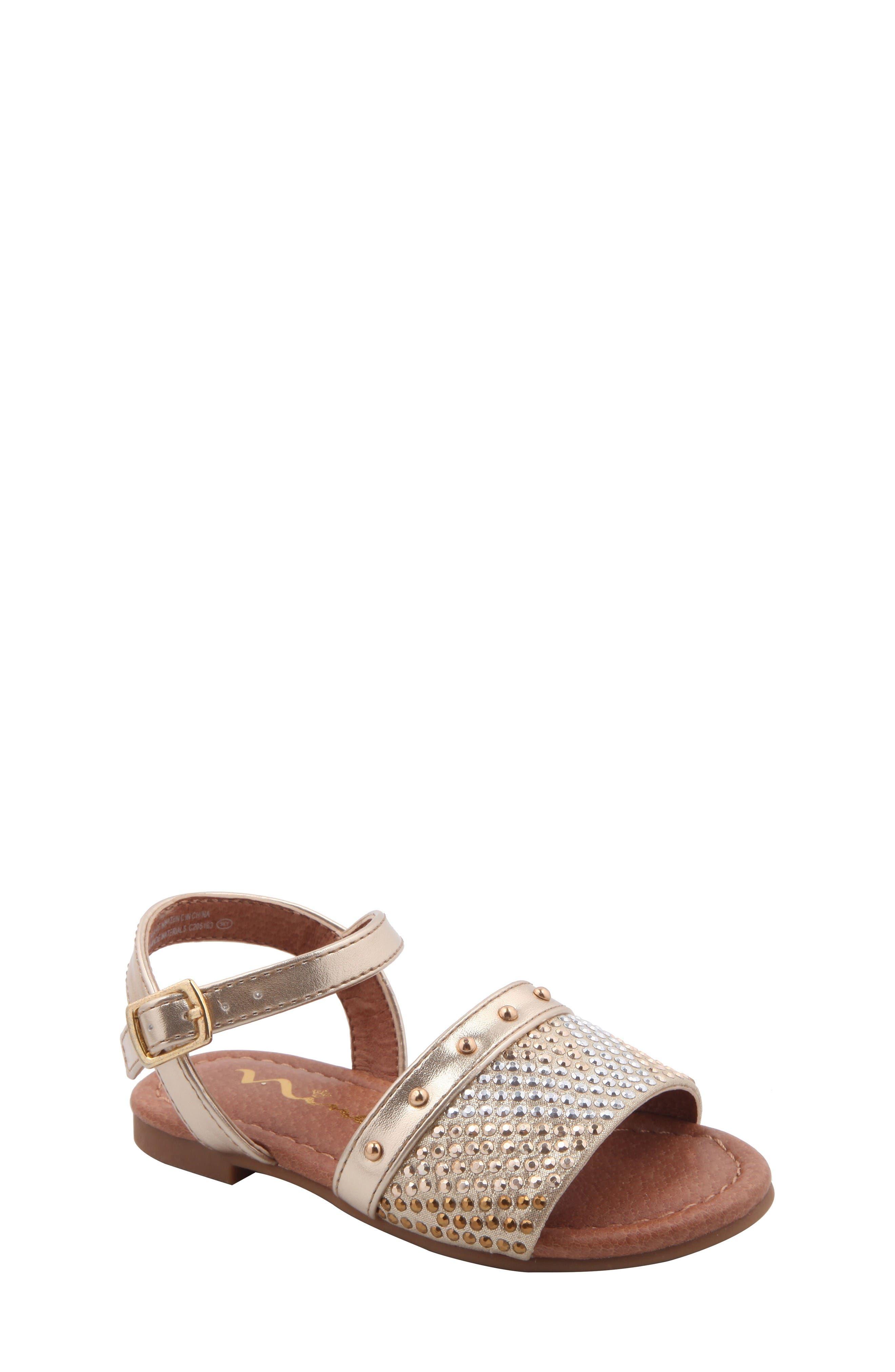 Nina Ibbie Embellished Sandal (Walker & Toddler)