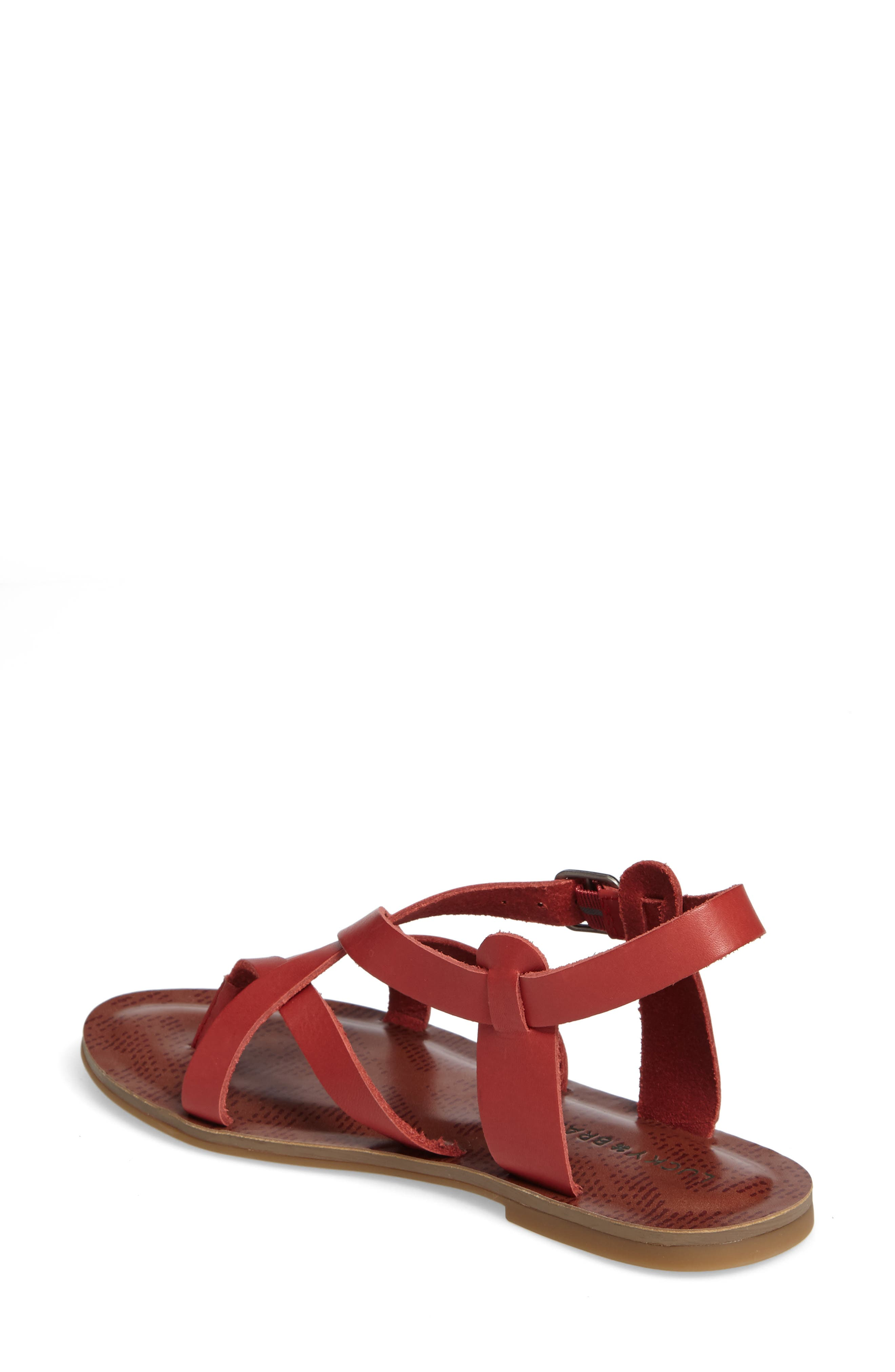 Alternate Image 2  - Lucky Brand Adinis Flat Sandal (Women)