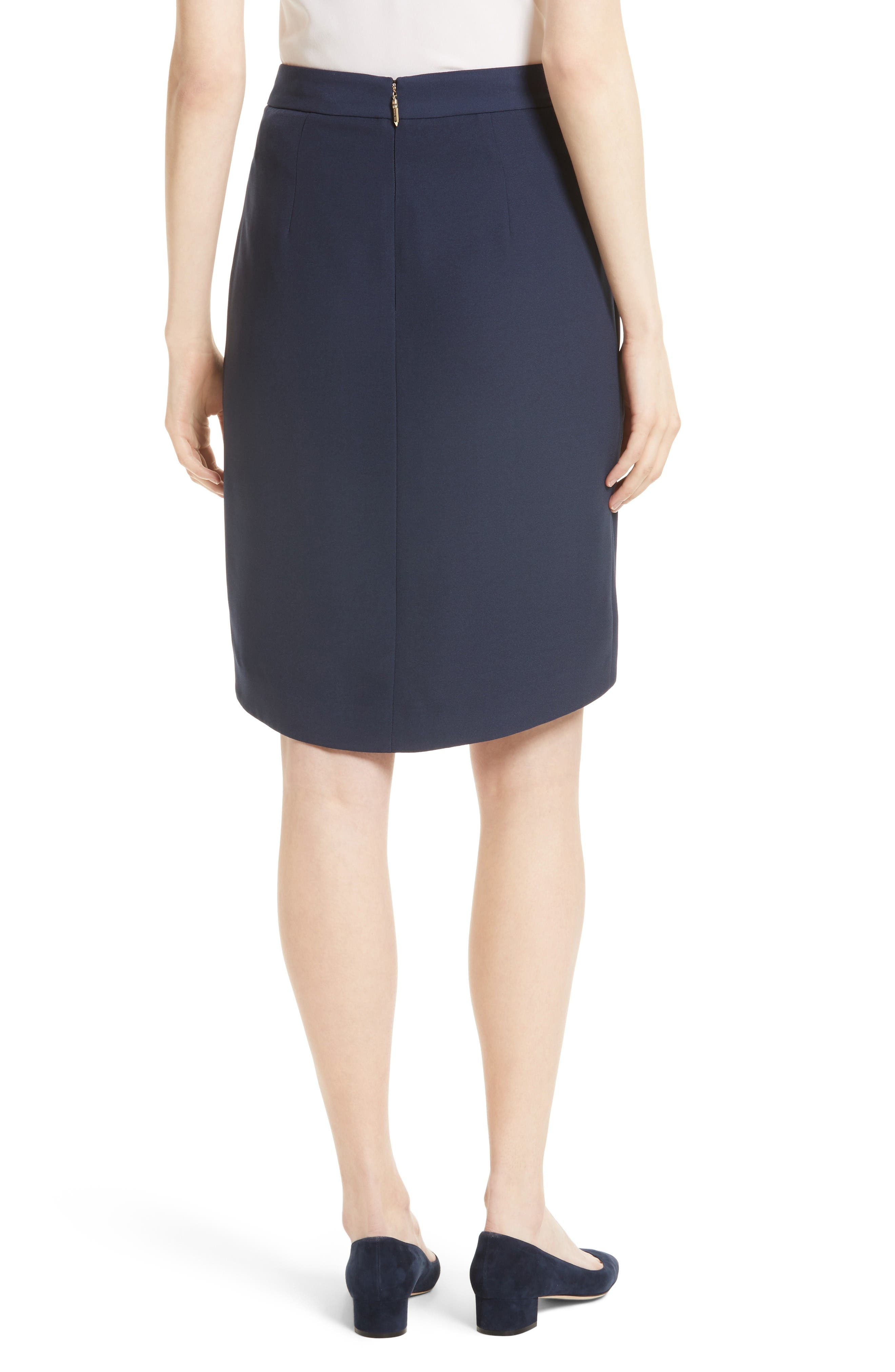 Alternate Image 2  - Ted Baker London Yooy Crossover Front Skirt