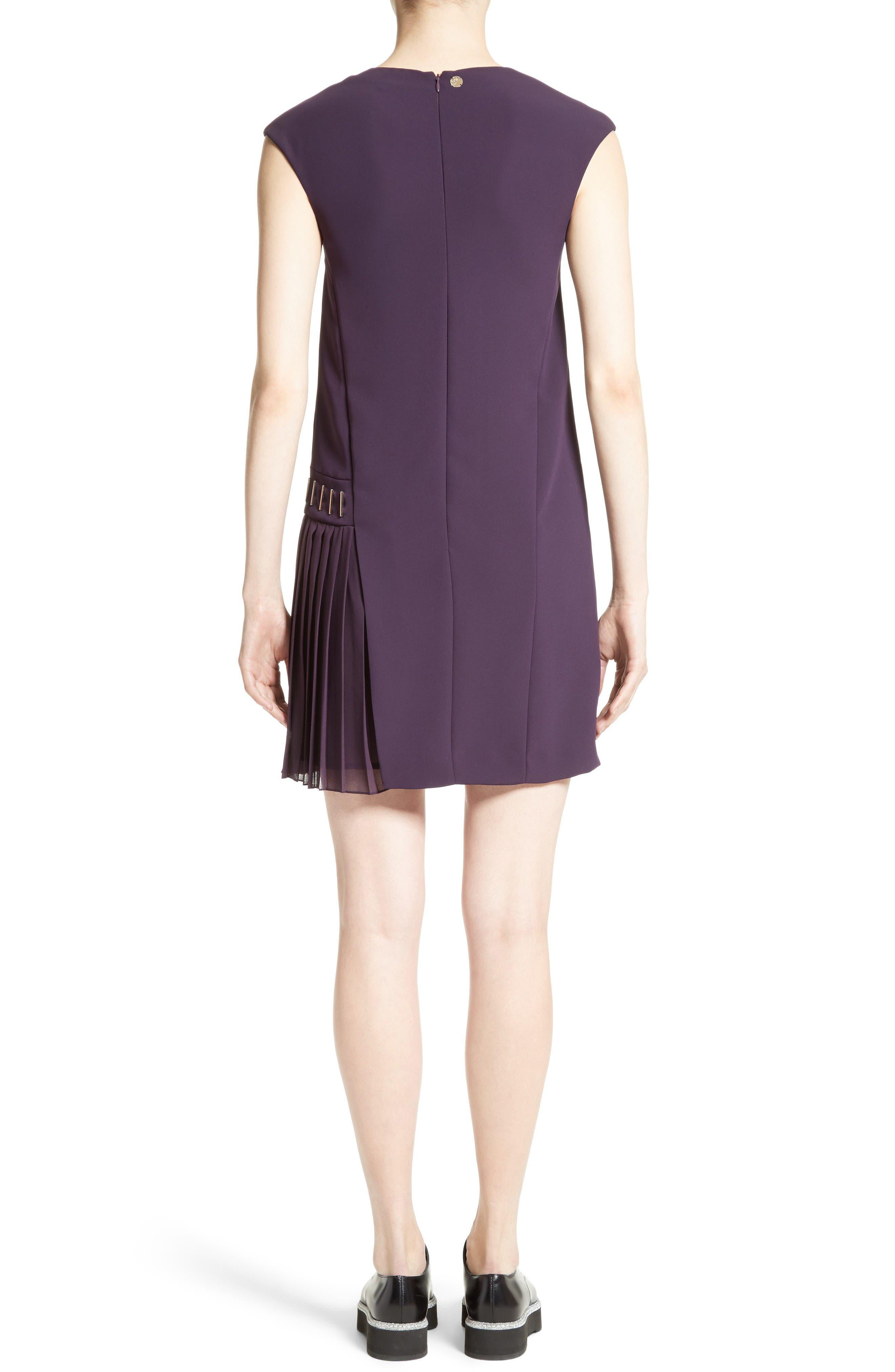 Alternate Image 2  - Versace Collection Side Pleat Dress