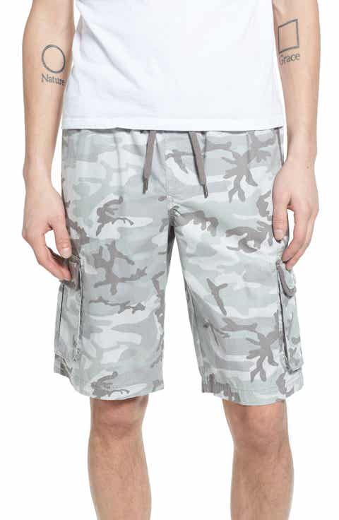 Treasure Bond Camo Cargo Shorts
